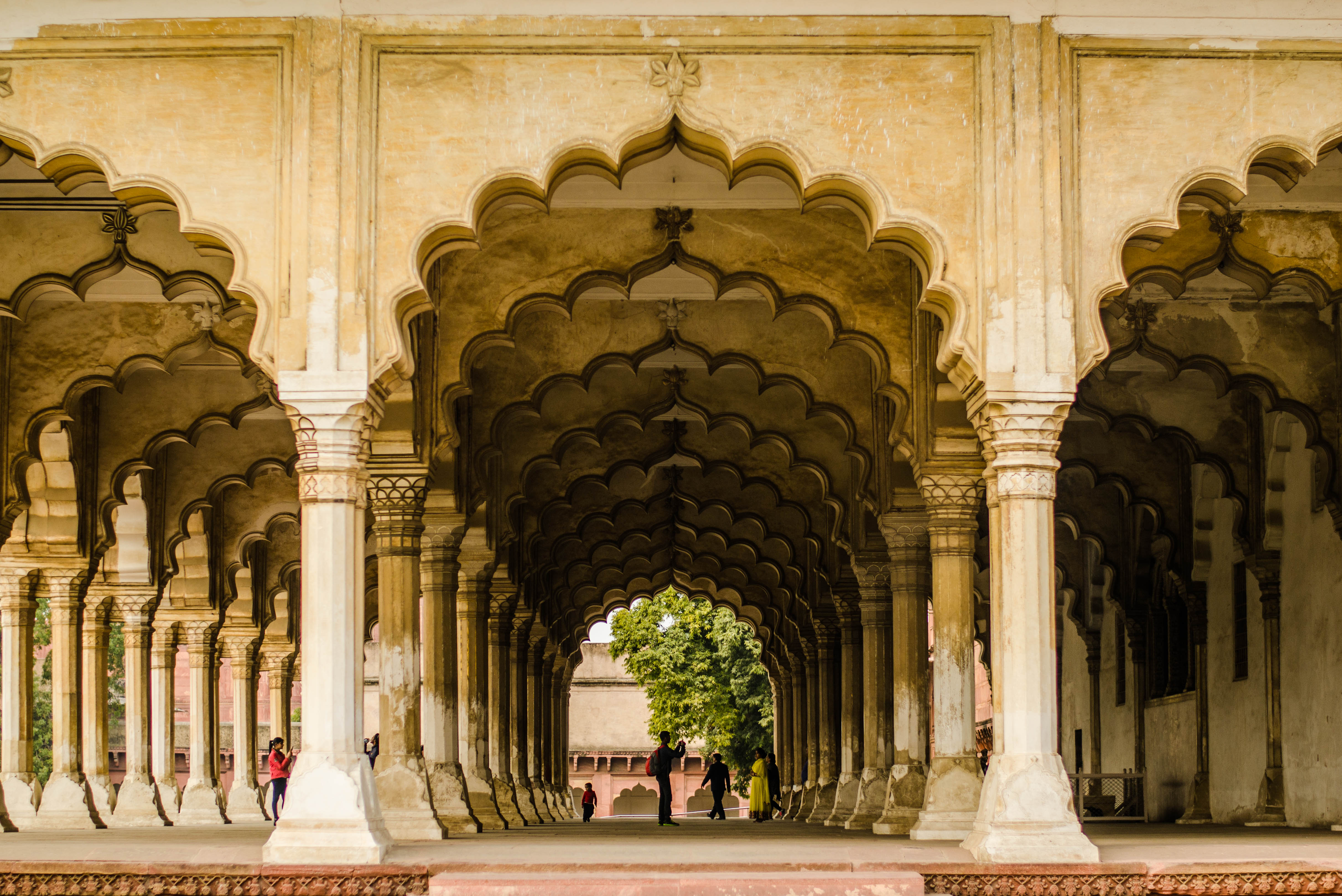 File agra fort diwan i wikimedia commons for Diwan i aam images