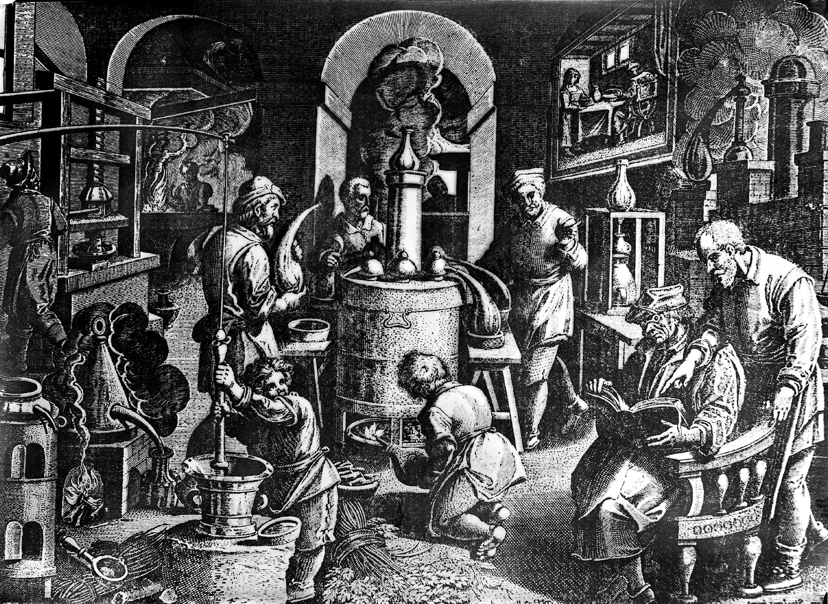 Image result for alchemical lab