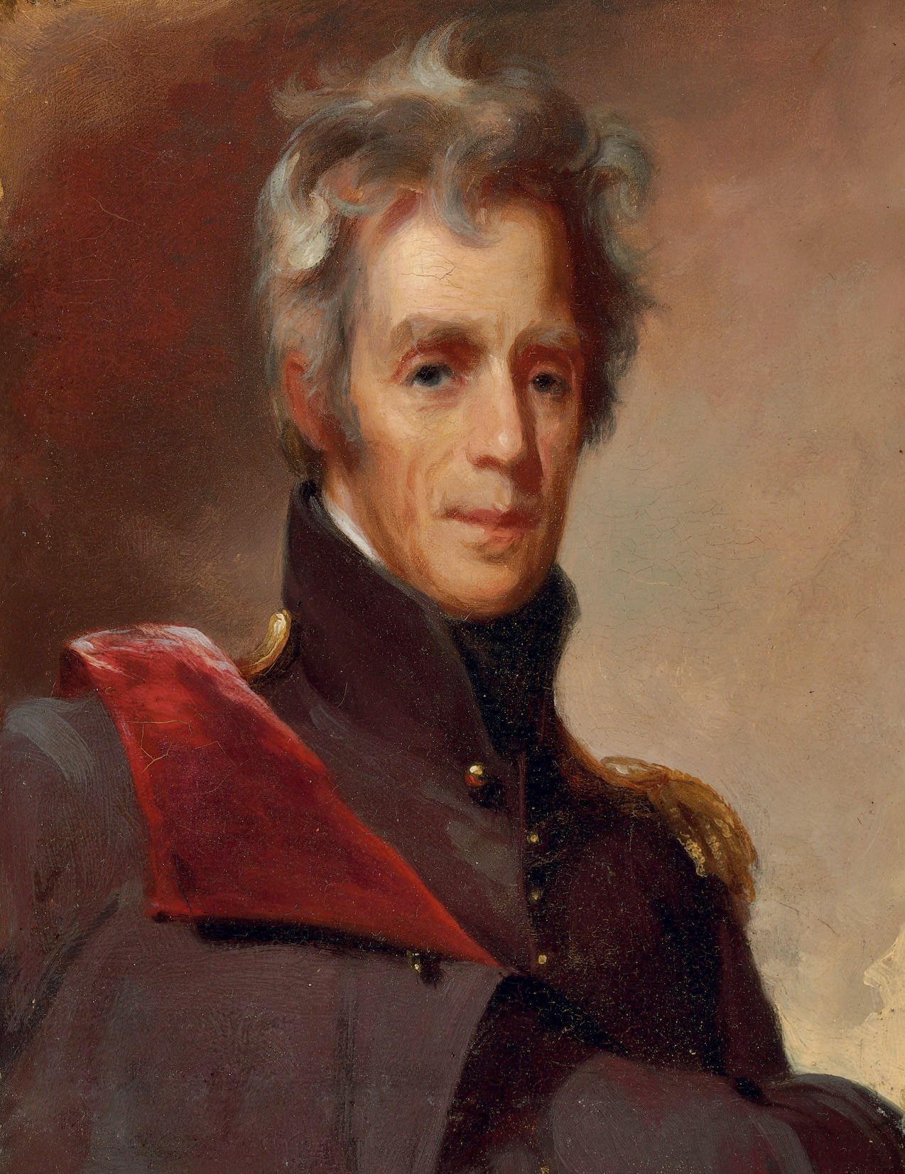aqndrew jackson Andrew jackson was born on the border of north and south carolina in 1767 though a young boy during the revolution, he acted as a courier and witnessed the battle of hobkirk's hill as a british prisoner of war.