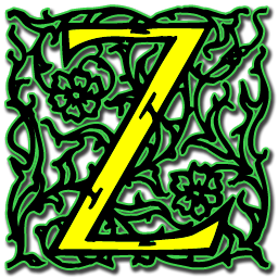 File Arabesque Letter Z Icon Png Wikimedia Commons