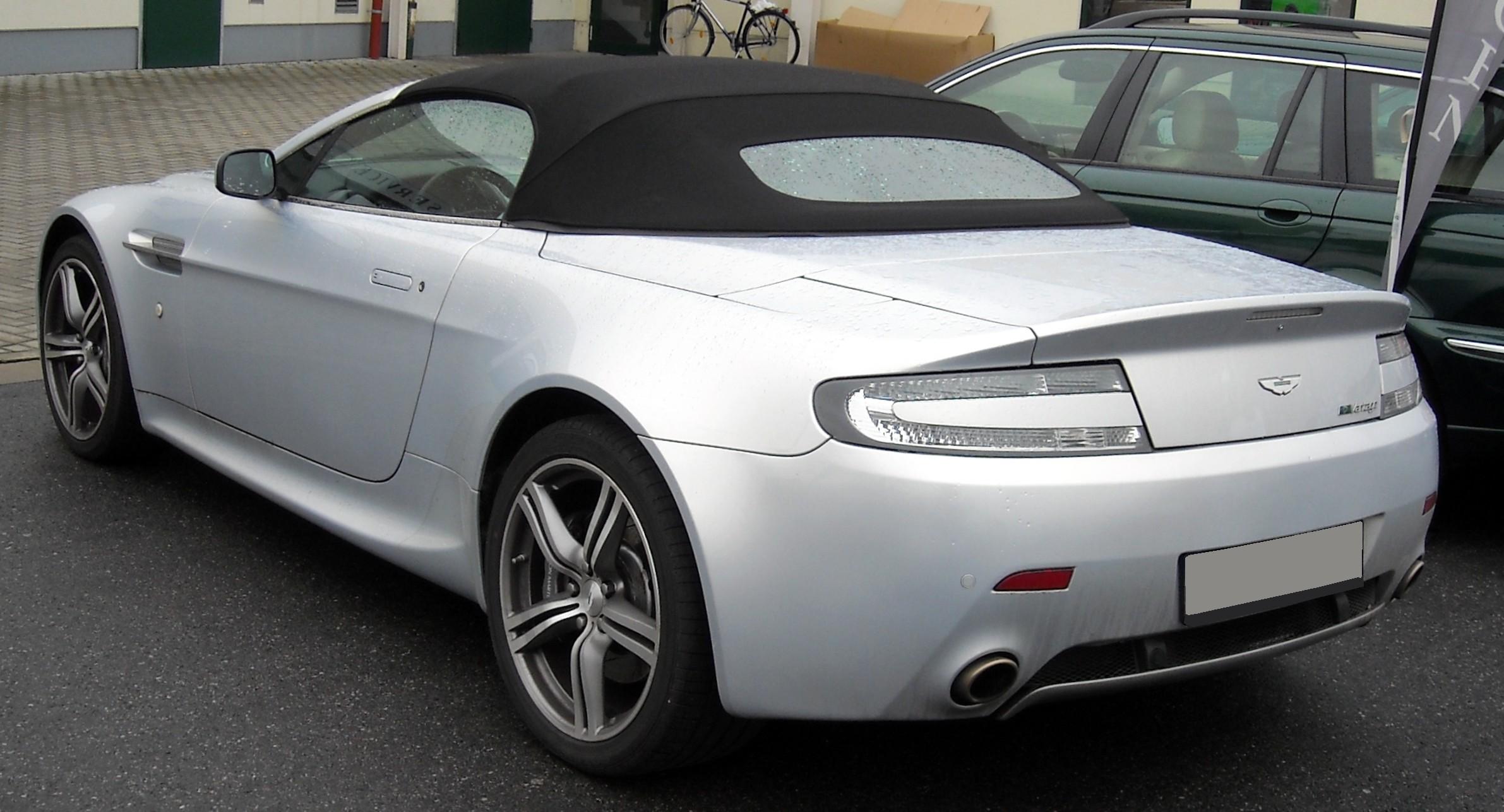 file:aston martin v8 vantage roadster silver rear 20081204