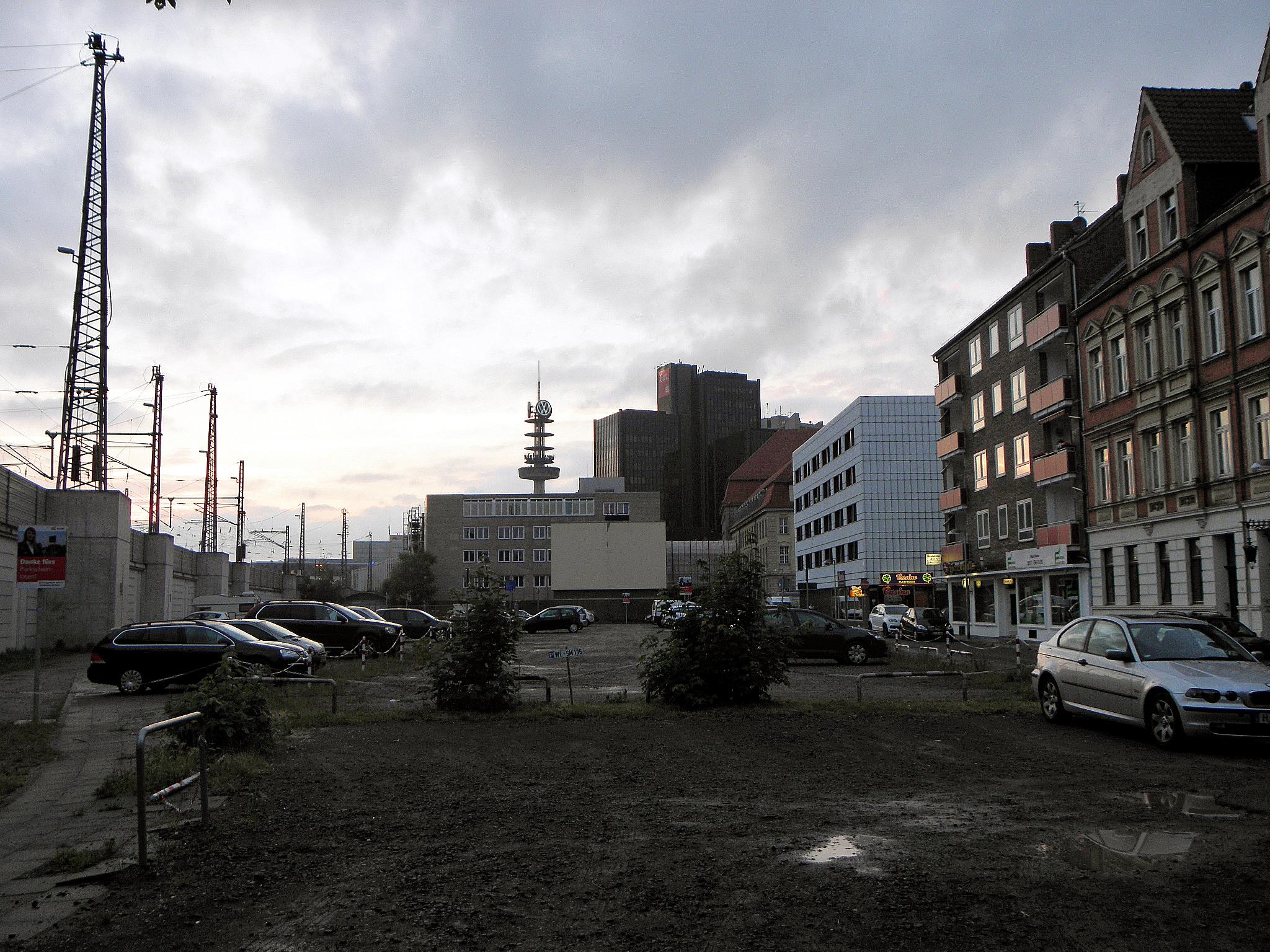 Hannover Hauptbahnhof Parkplatz