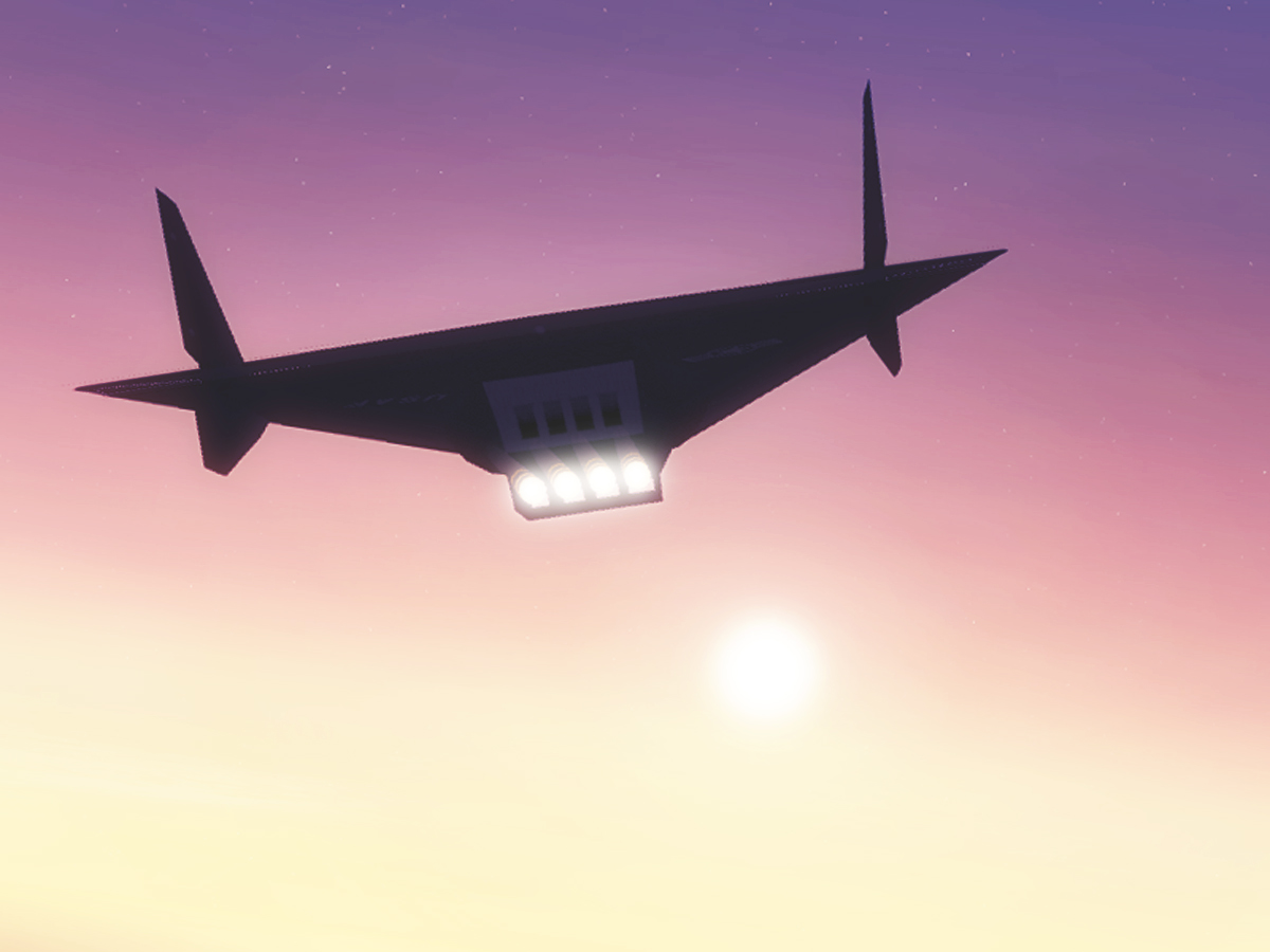 Reconnaissance Aircraft Aurora The Aurora Aircraft in The