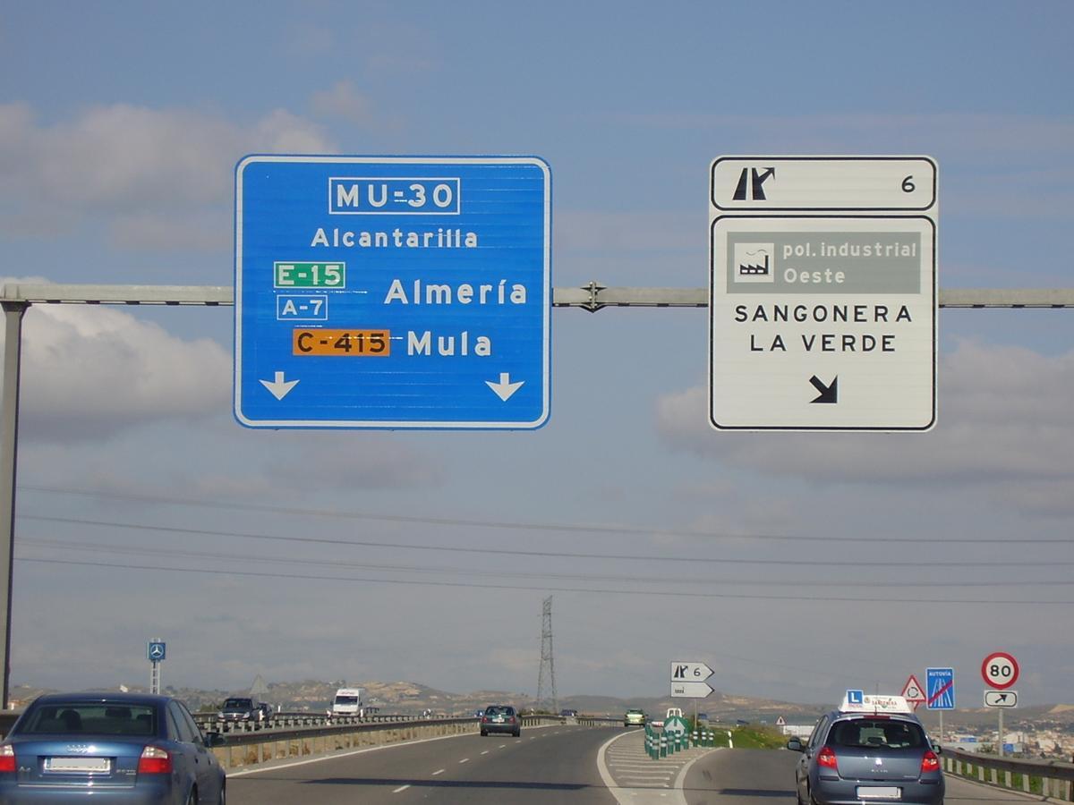 File Autovia Mu 30 Murcia Jpg Wikimedia Commons