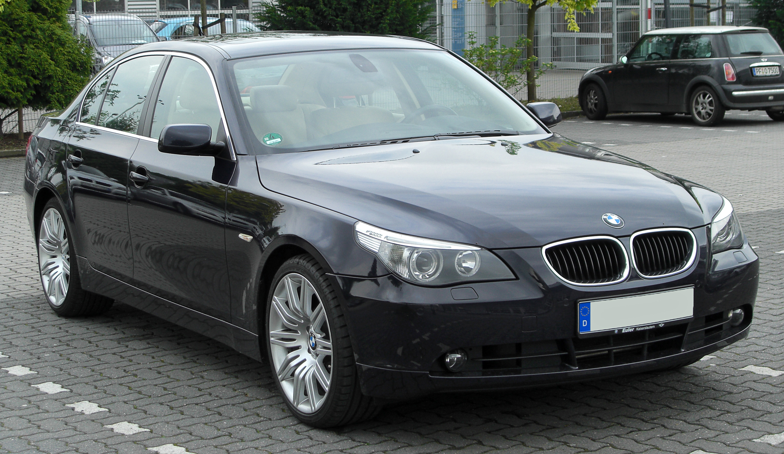 File Bmw 5er E60 Front 20100508 Jpg Wikimedia Commons