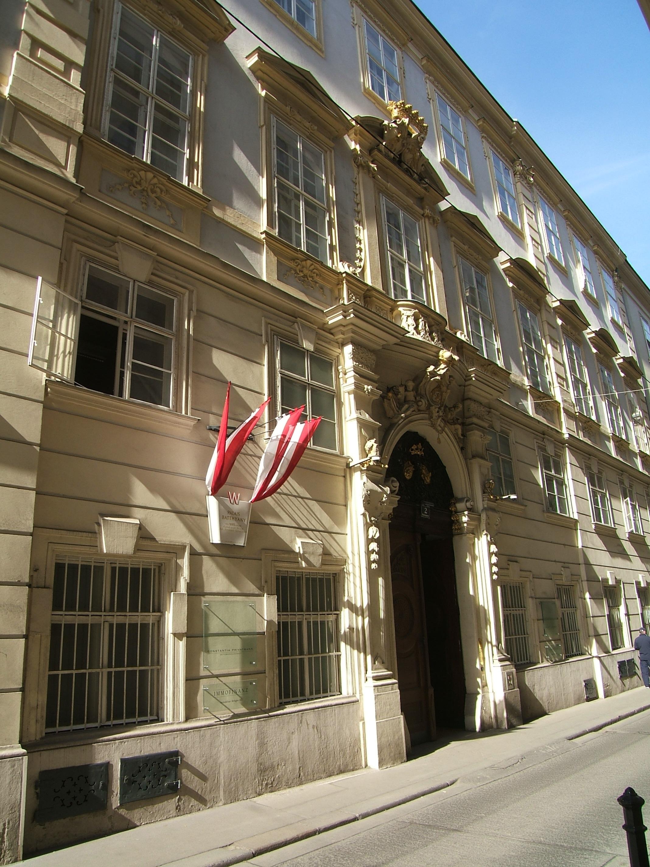Batthyány Palais-Bankgasse 2.JPG