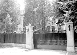 English: White Palace gate, Belgrade
