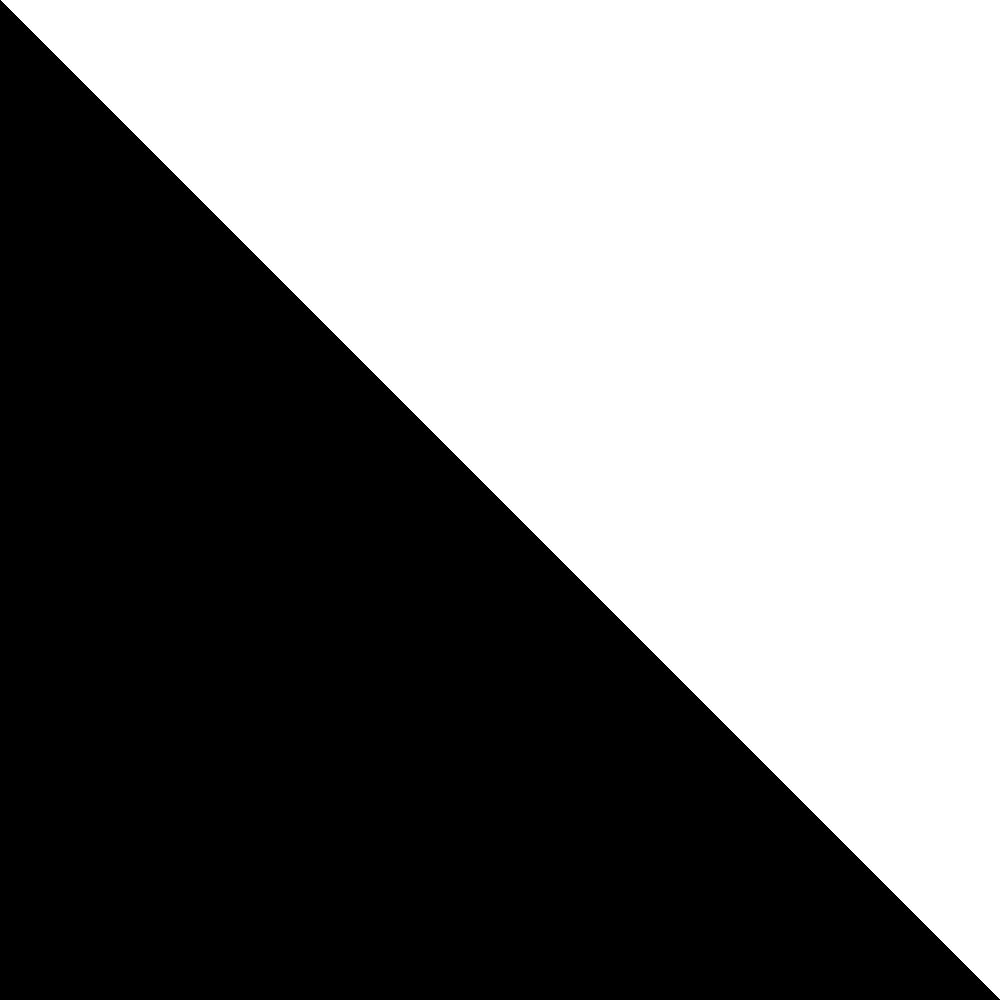 Description Black right angled triangle 2.png