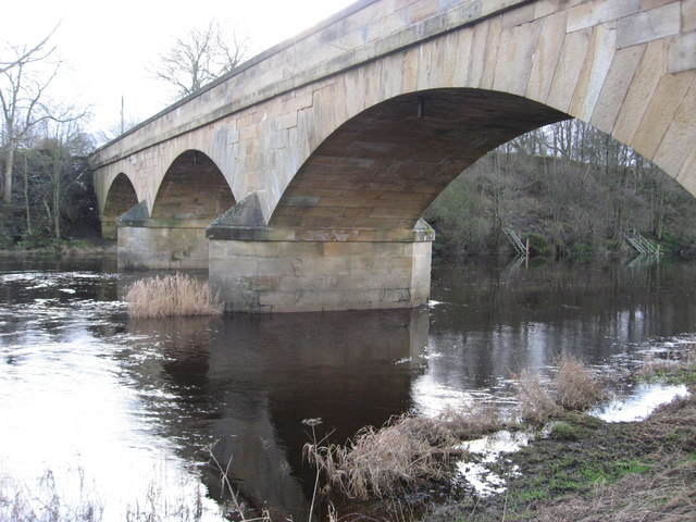 Bridge Over North Tyne at Bellingham - geograph.org.uk - 948602