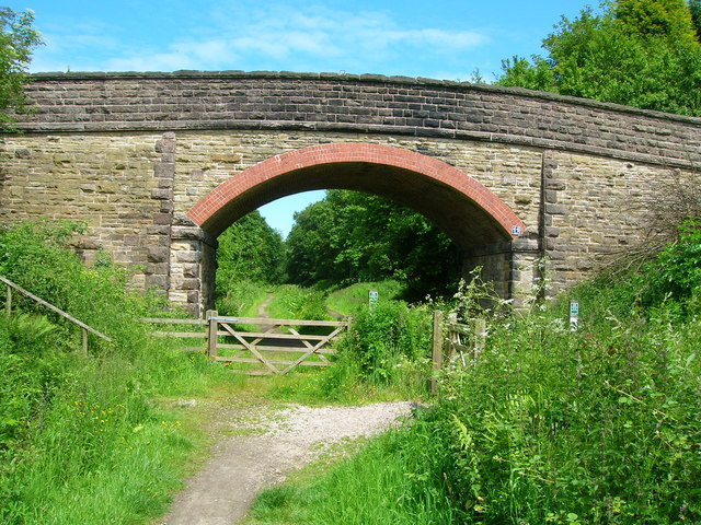 Bridge over Middlewood Way - geograph.org.uk - 1352932