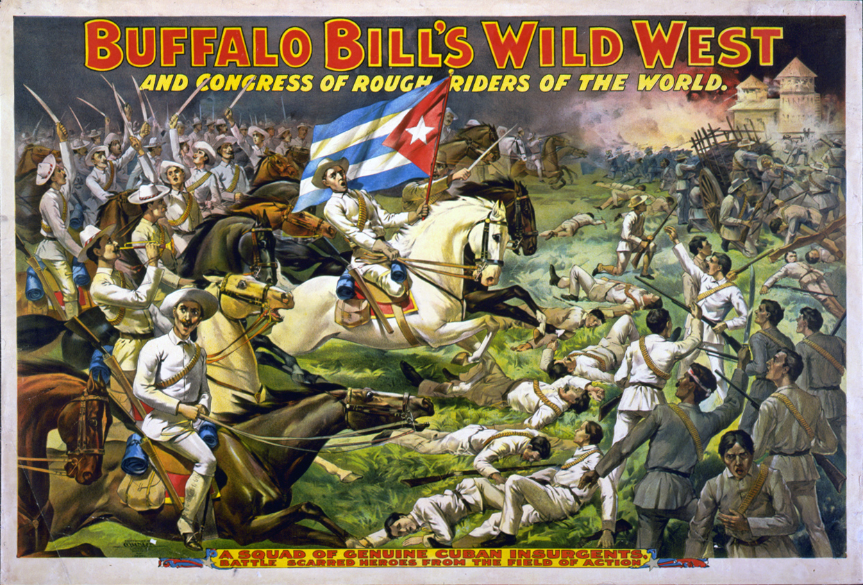 """Buffalo Bill's Wild West and Congress of Rough Riders of the World"""