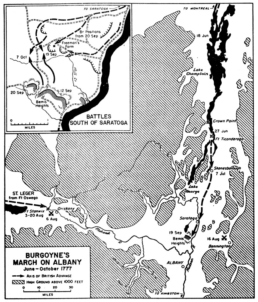 FileBurgoyne Jpg Wikimedia Commons - Battle of saratoga us maps
