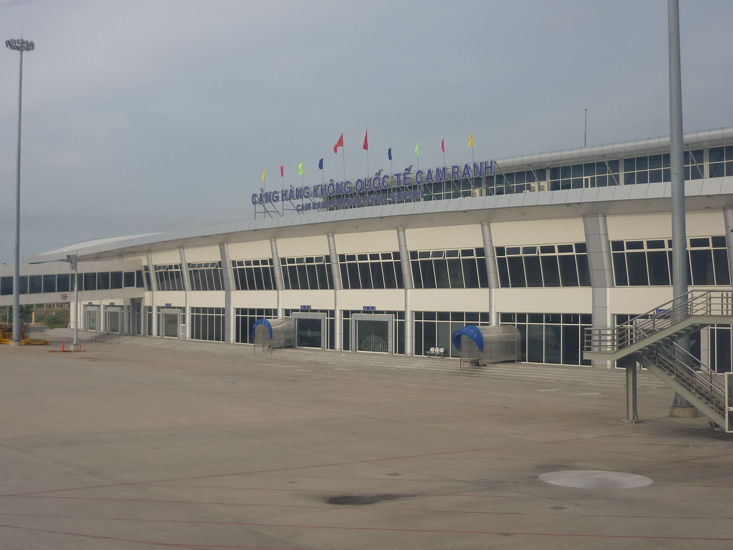 Aéroport de Cam Ranh Nha Trang (l'aéroport international de Cam Ranh Nha Trang) .1