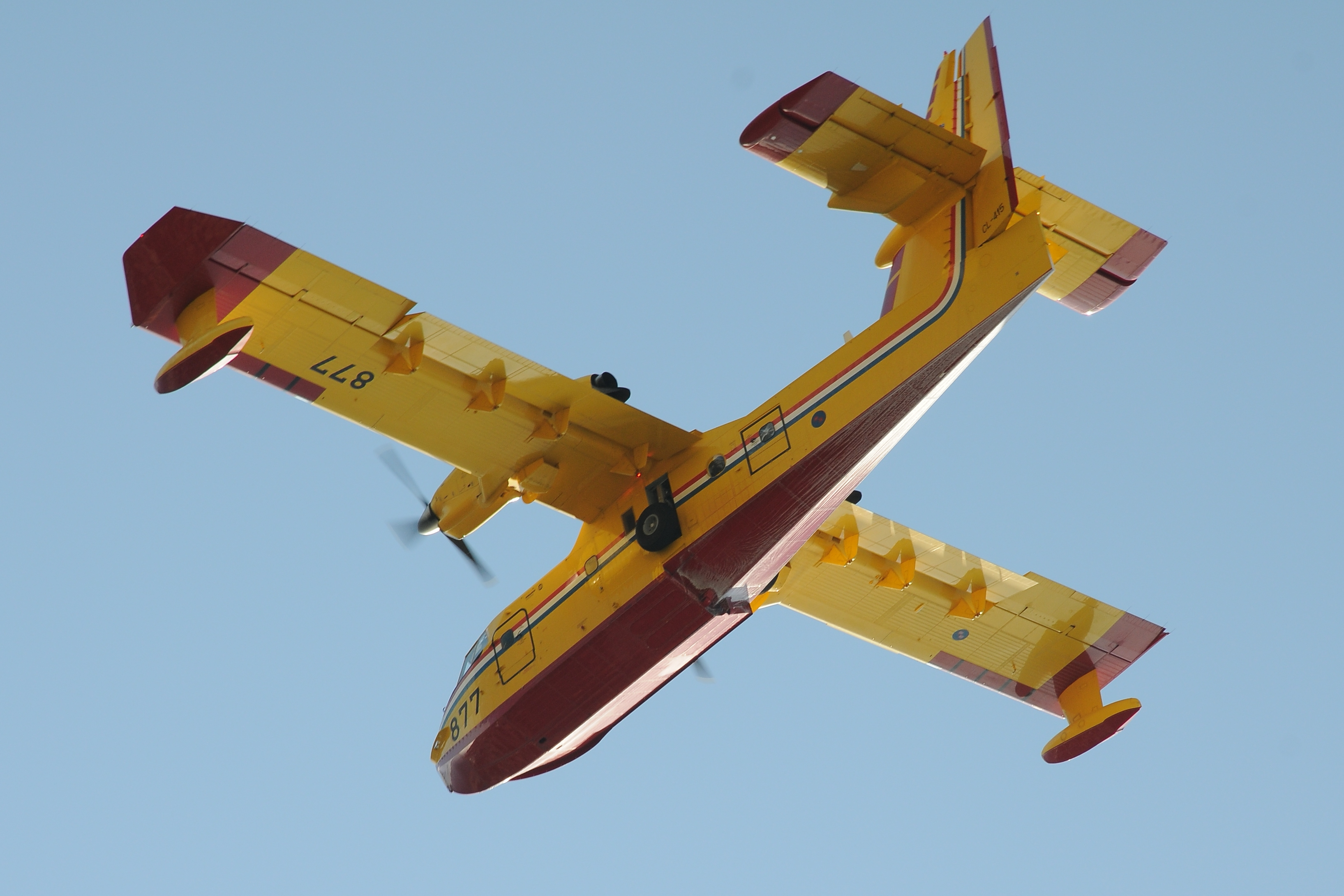 Canadair CL-415 Kroatien 2