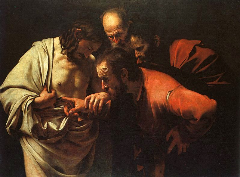 Ficheiro:Caravaggio - The Incredulity of Saint Thomas.jpg
