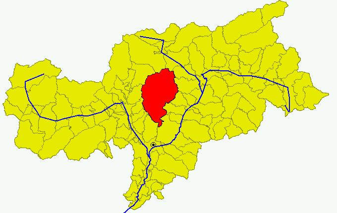 File:Cartina Comune BZ Sarentino.png