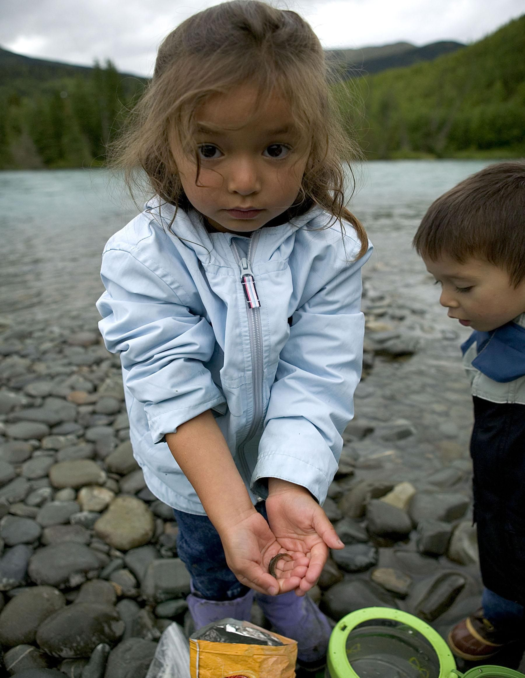 Little Kids Fishing
