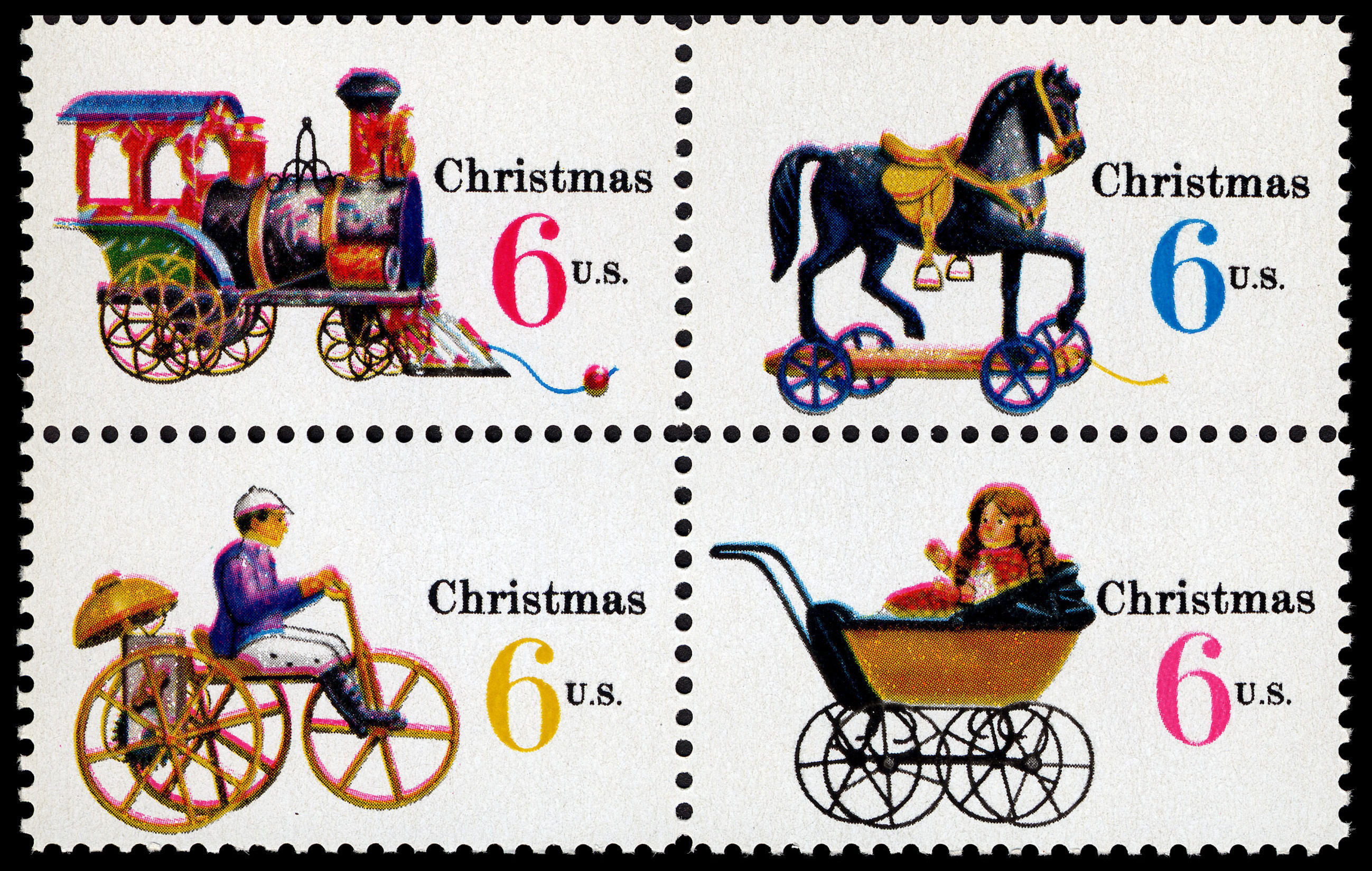FileChristmas Toys 6c 1970 Issue US Stamp