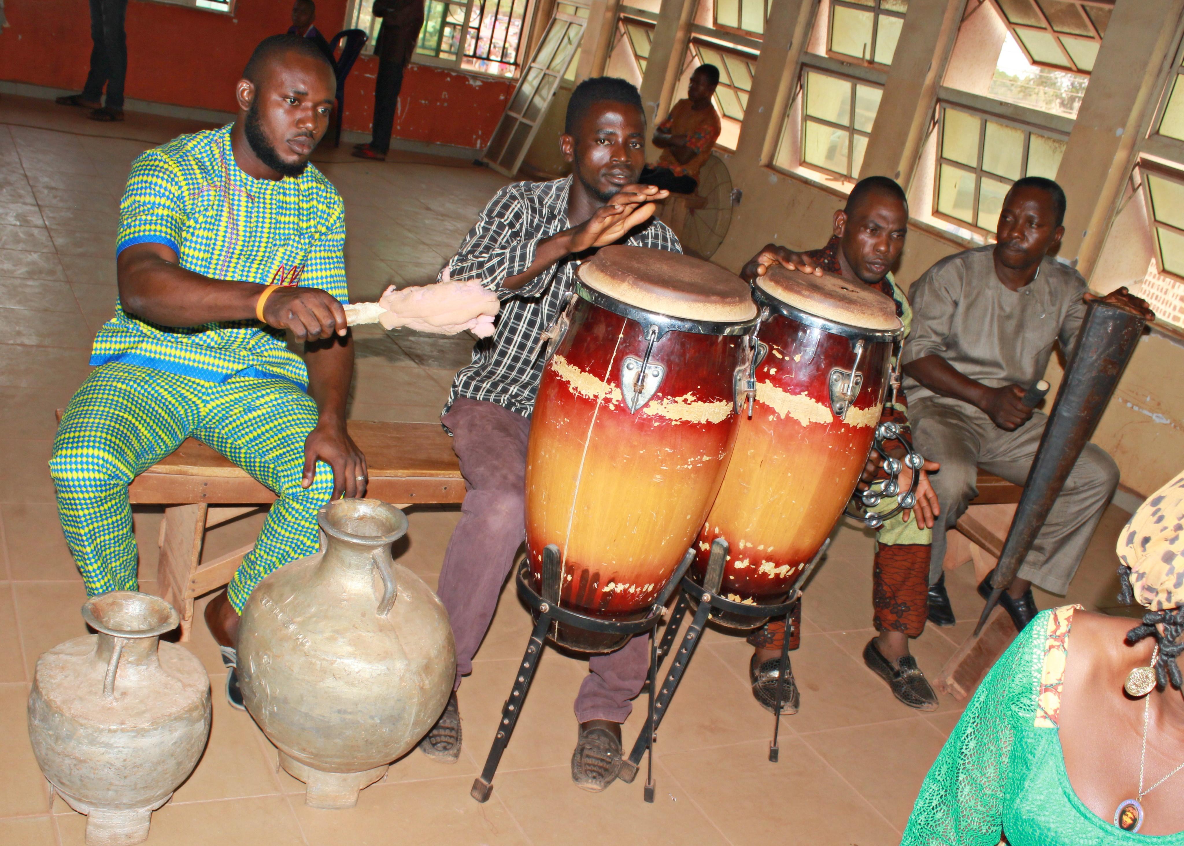 File:Church Choir Band - Igbo Tribe - Nike - Enugu State