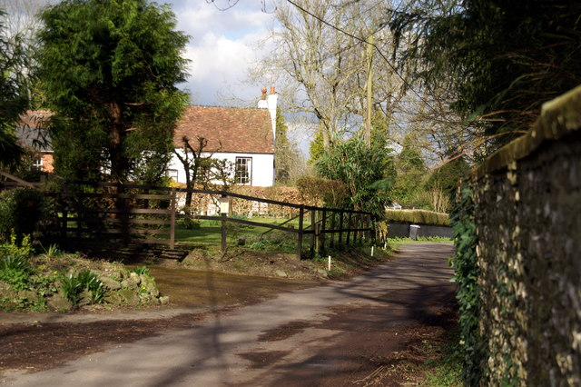 Church Lane, Exton - geograph.org.uk - 830777