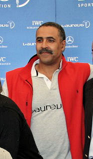 Daley Thompson British decathlete