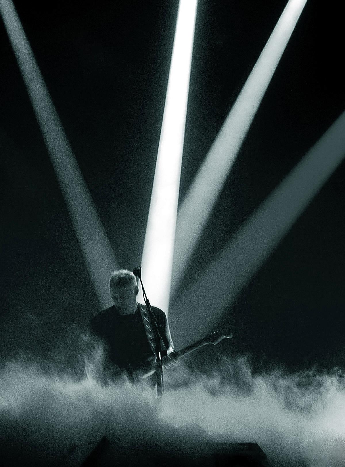 Set Up David Gilmour Pink Floyd Taringa