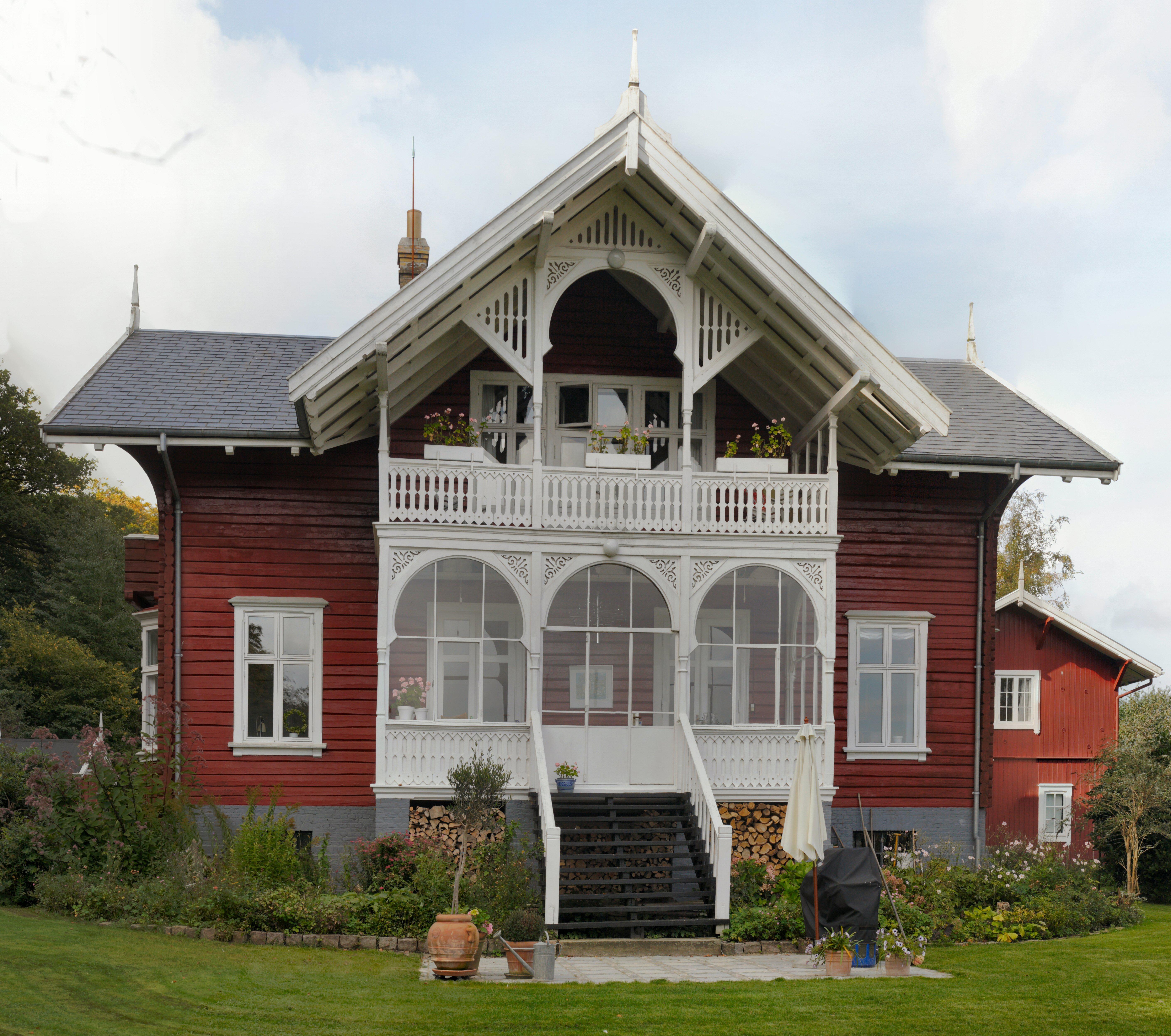 File Det Norske Hus Havesiden Jpg Wikimedia Commons