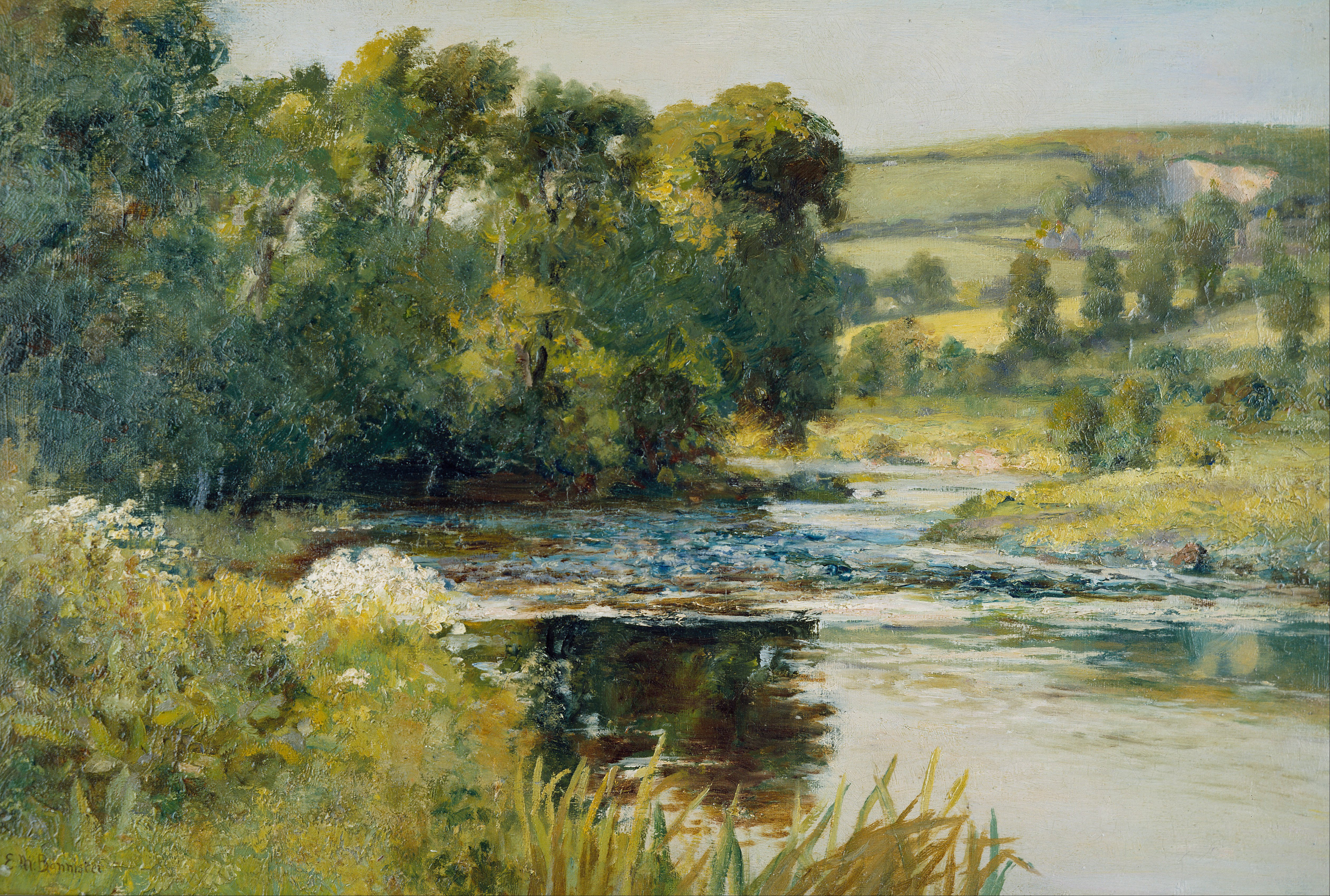 File:Edward Mitchell Bannister - Streamside - Google Art ...