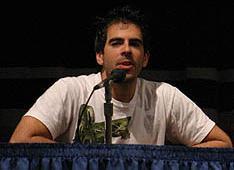 Eli Roth presenta Thanksgiving al Comic Con di San Diego 2006