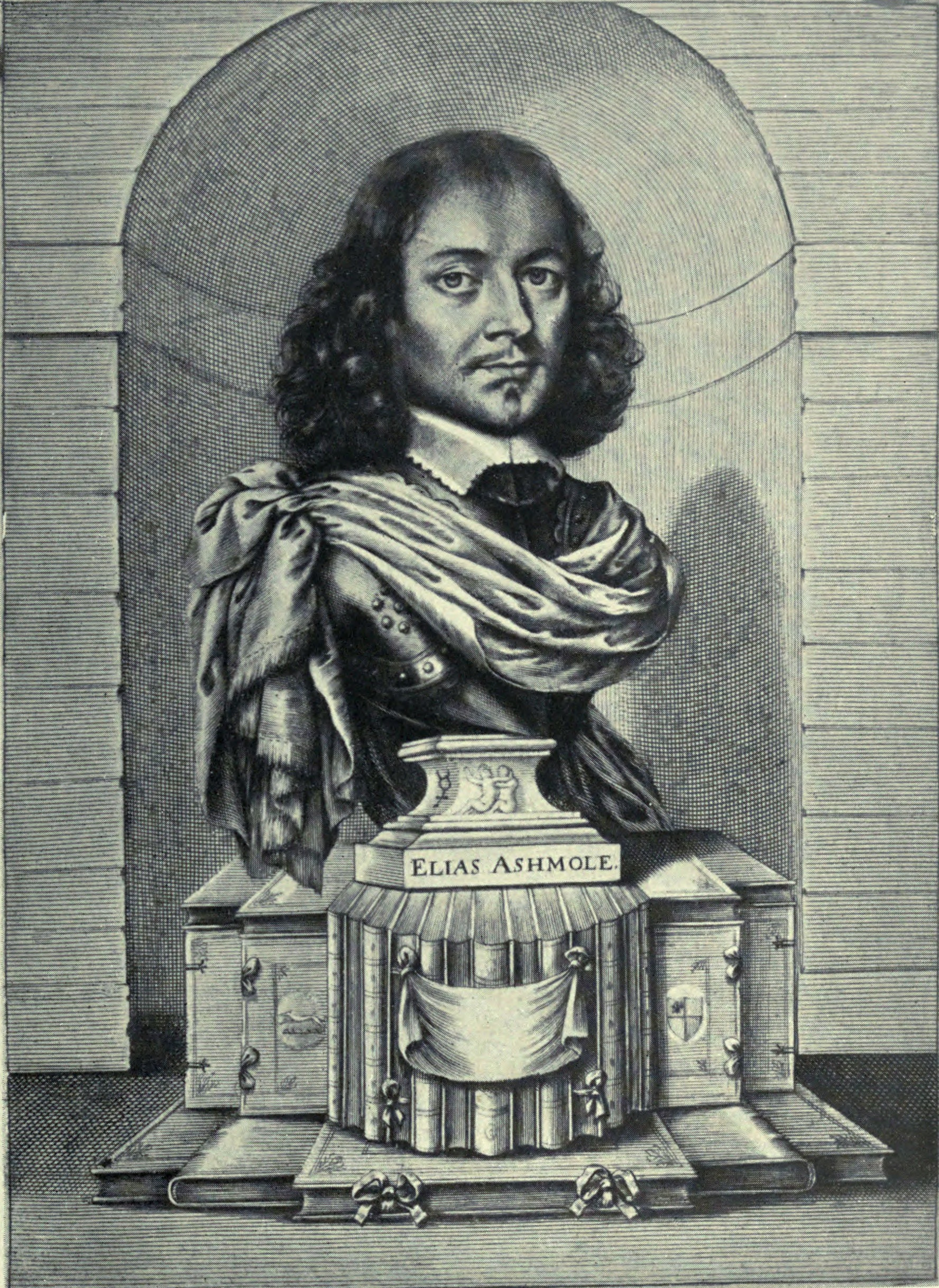 Elias Ashmole, compiler of the Theatrum Chemicum Britannicum
