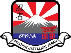 Emblem of US Army Aviation Battalion Japan