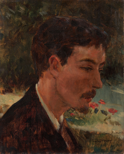 Emile Auguste Carolus-Duran - Portrait of James Carroll Beckwith (c.1877)