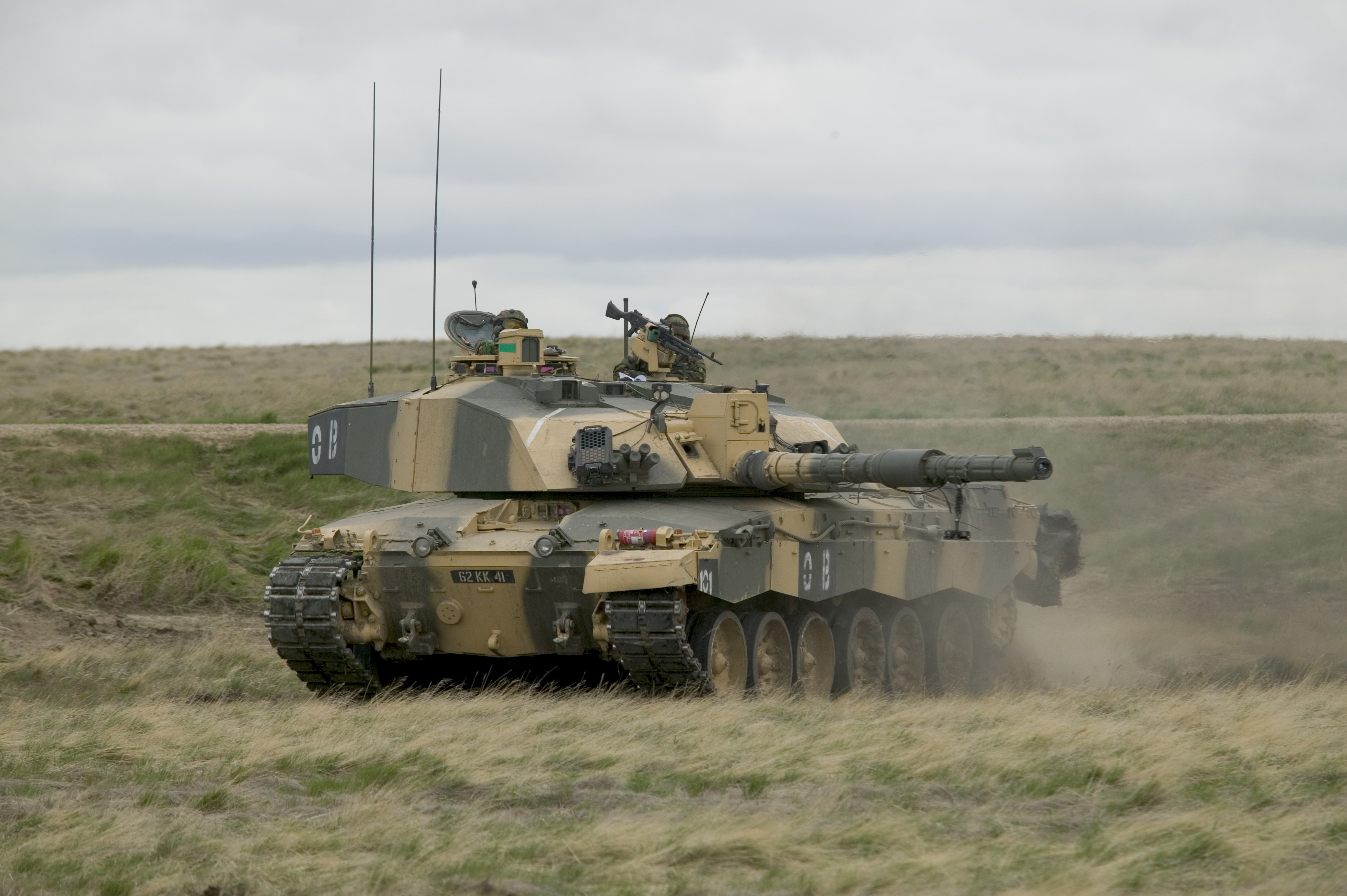 File Exercise Medman In Batus Canada A Challenger Tank