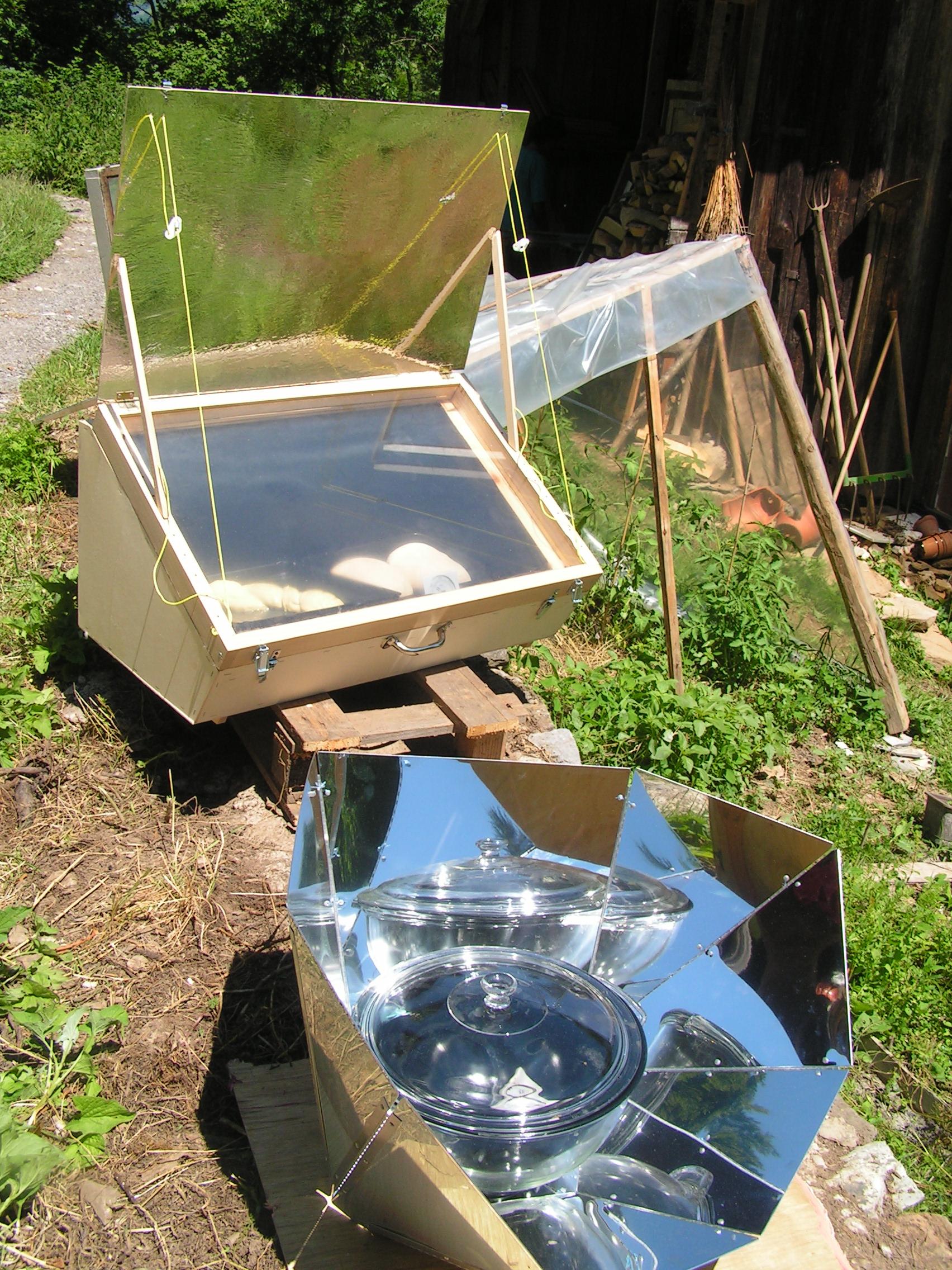 Cocina solar wikiwand - Materiales para hacer un horno de lena ...