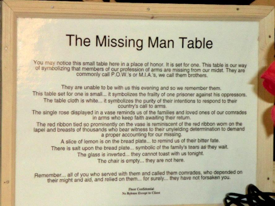 photograph regarding Missing Man Table Poem Printable named Report:Falk Oberdorf Lost Gentleman Desk1.jpg - Wikimedia Commons