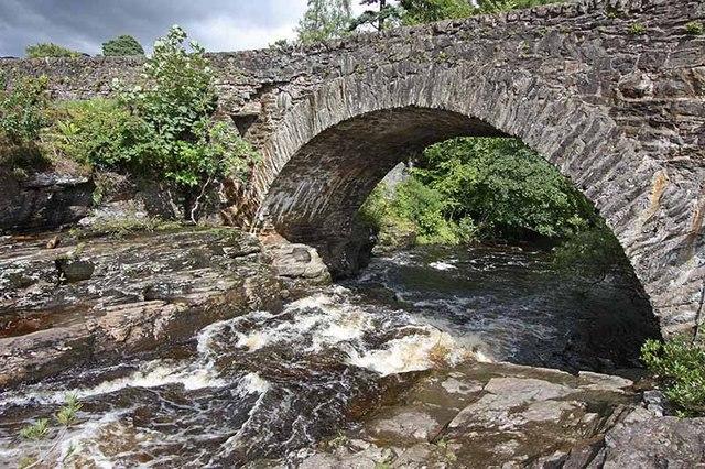 Falls of Dochart, Killin - geograph.org.uk - 955498