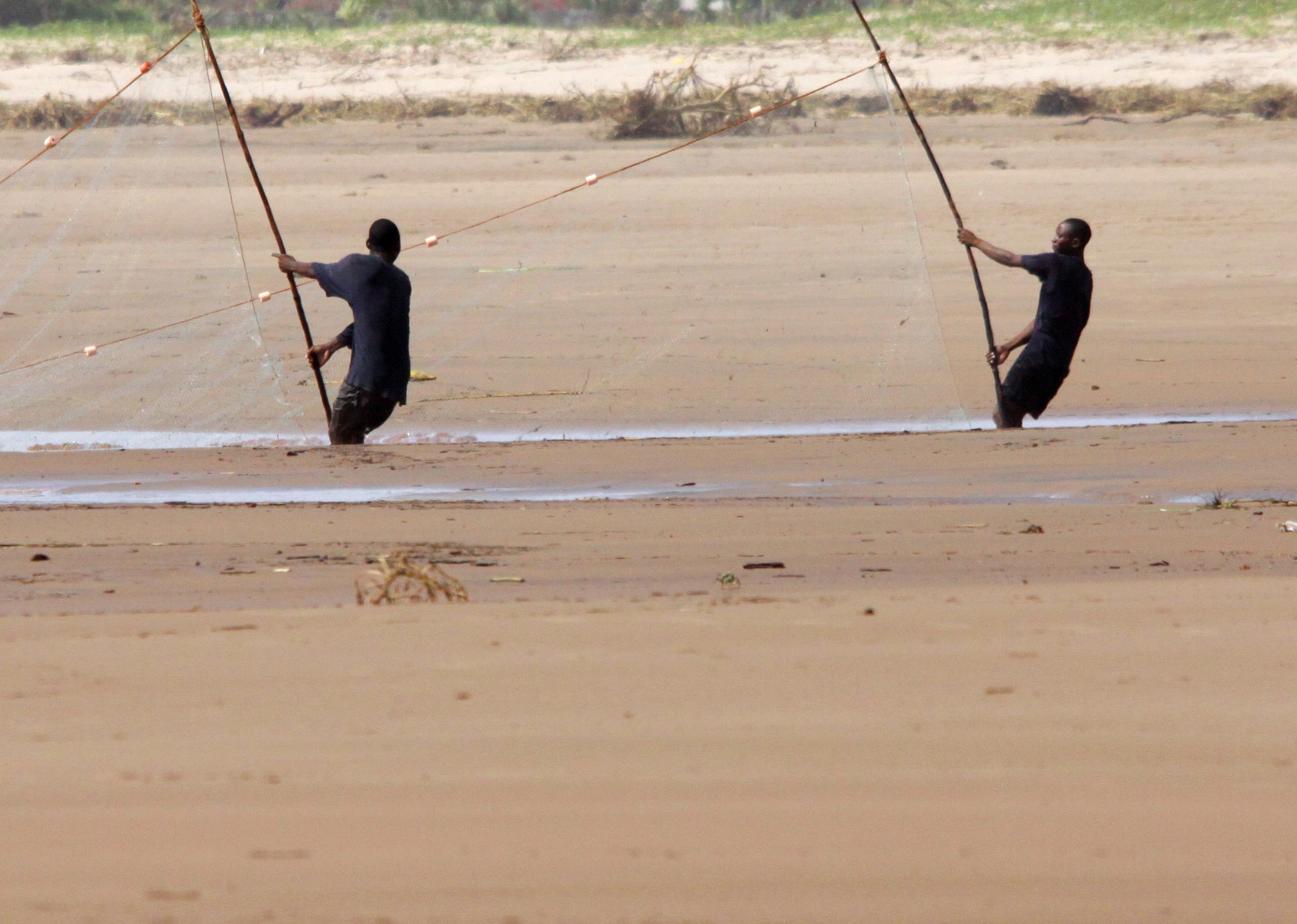 File flickr don macauley two people fishing with a net for Videos of people fishing