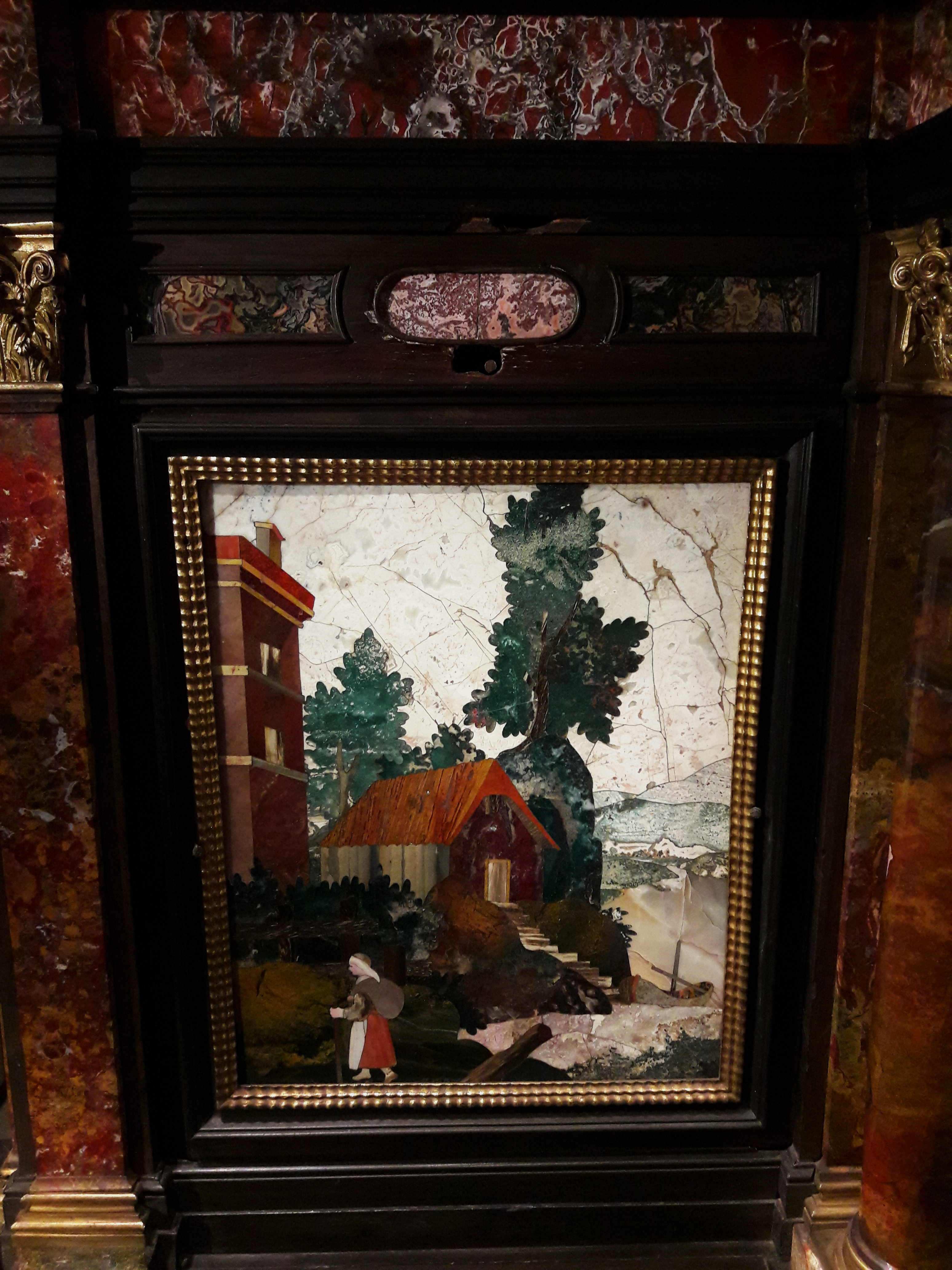 File:Florence Pietra Dura Cabinet With Triumphal Arch (detail) 03