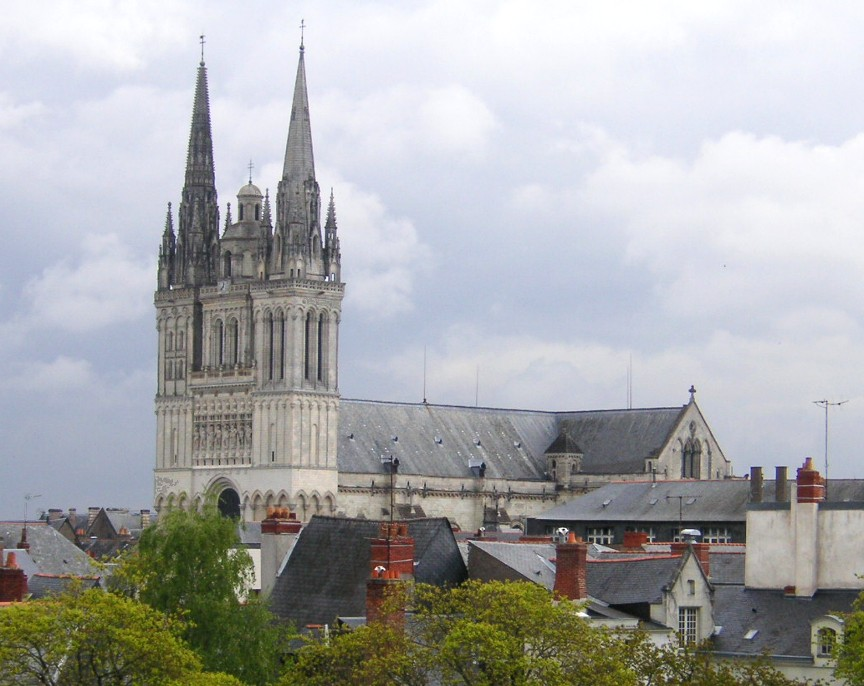 Angers France  City pictures : Description France Angers Cathedral c