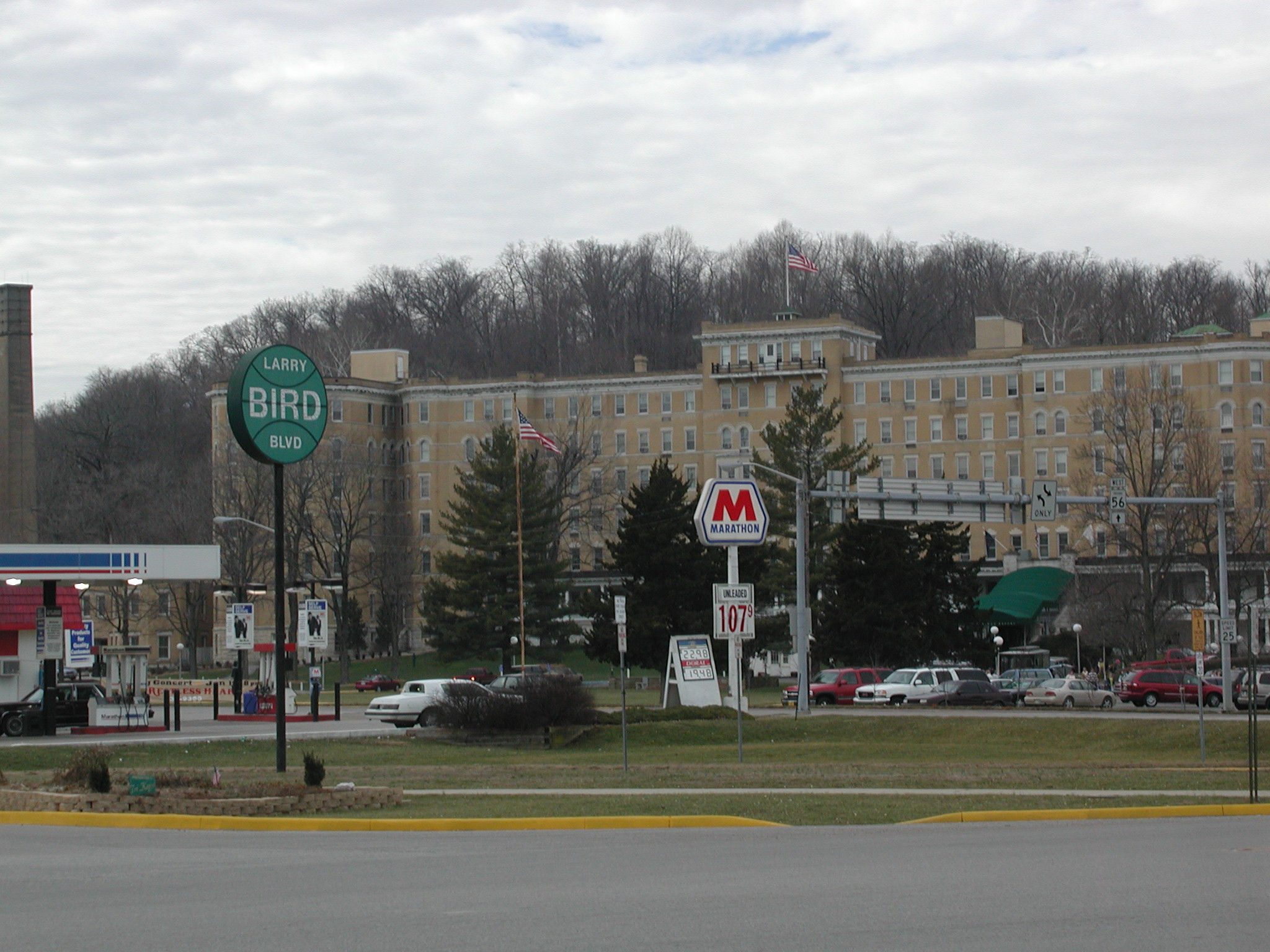 French hotel in indiana lick from