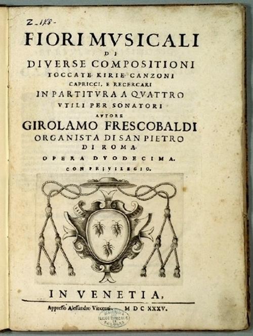 Image result for fiori musicali frescobaldi
