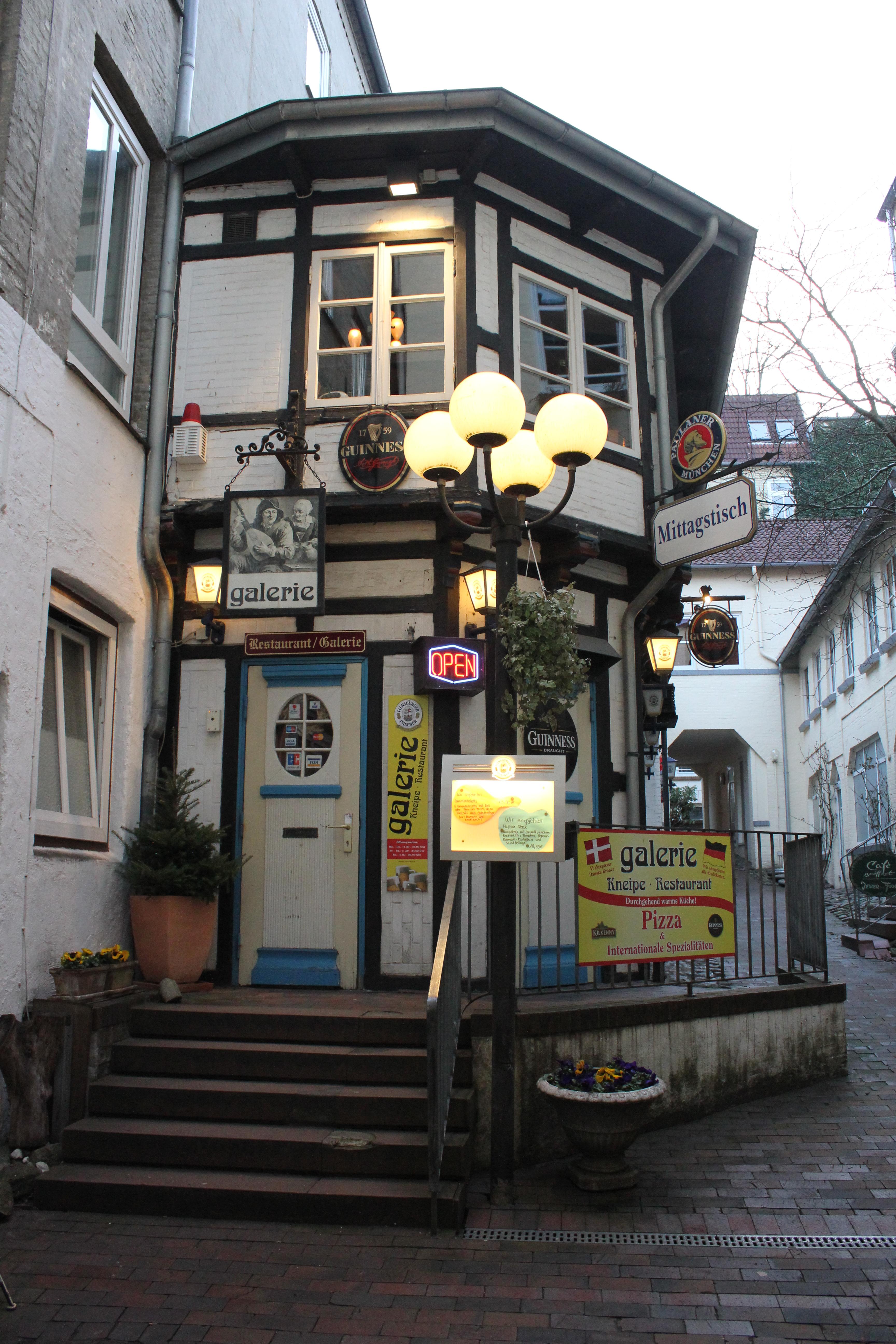 Restaurant Galerie Flensburg