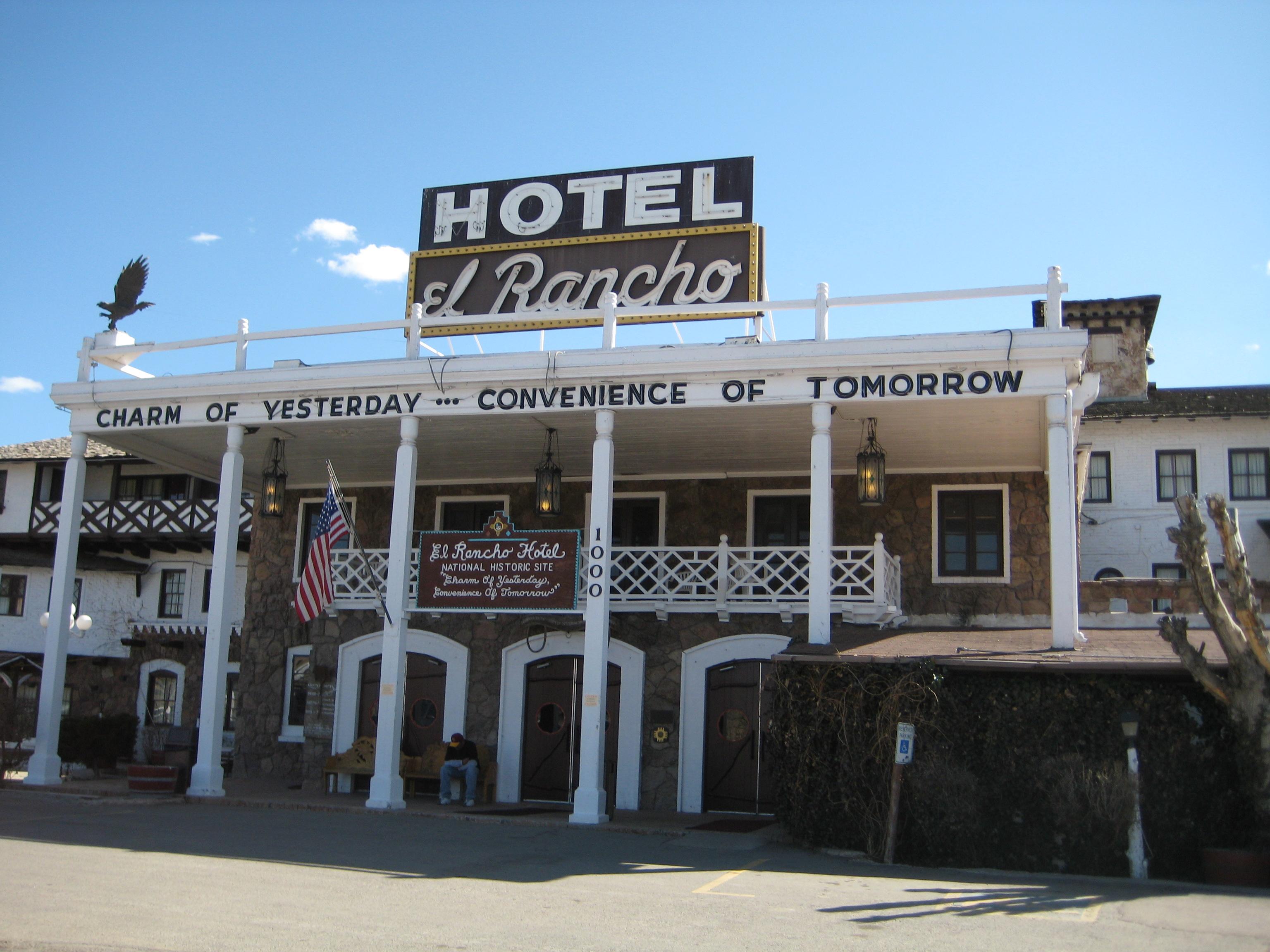File Gallup El Rancho Hotel Jpg