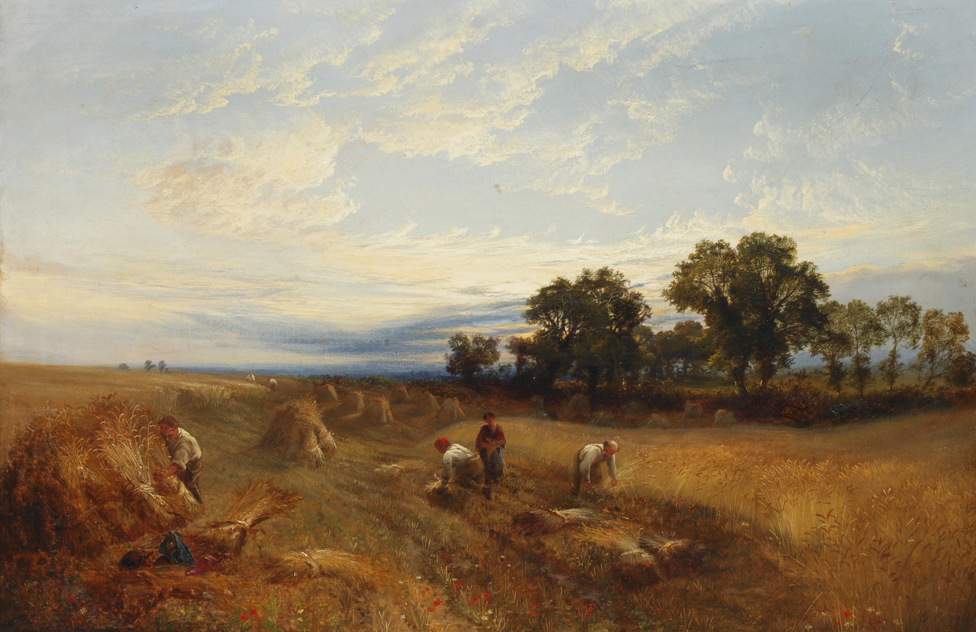 https://upload.wikimedia.org/wikipedia/commons/e/e0/George_Cole_-_A_Surrey_Harves_(1848).jpg