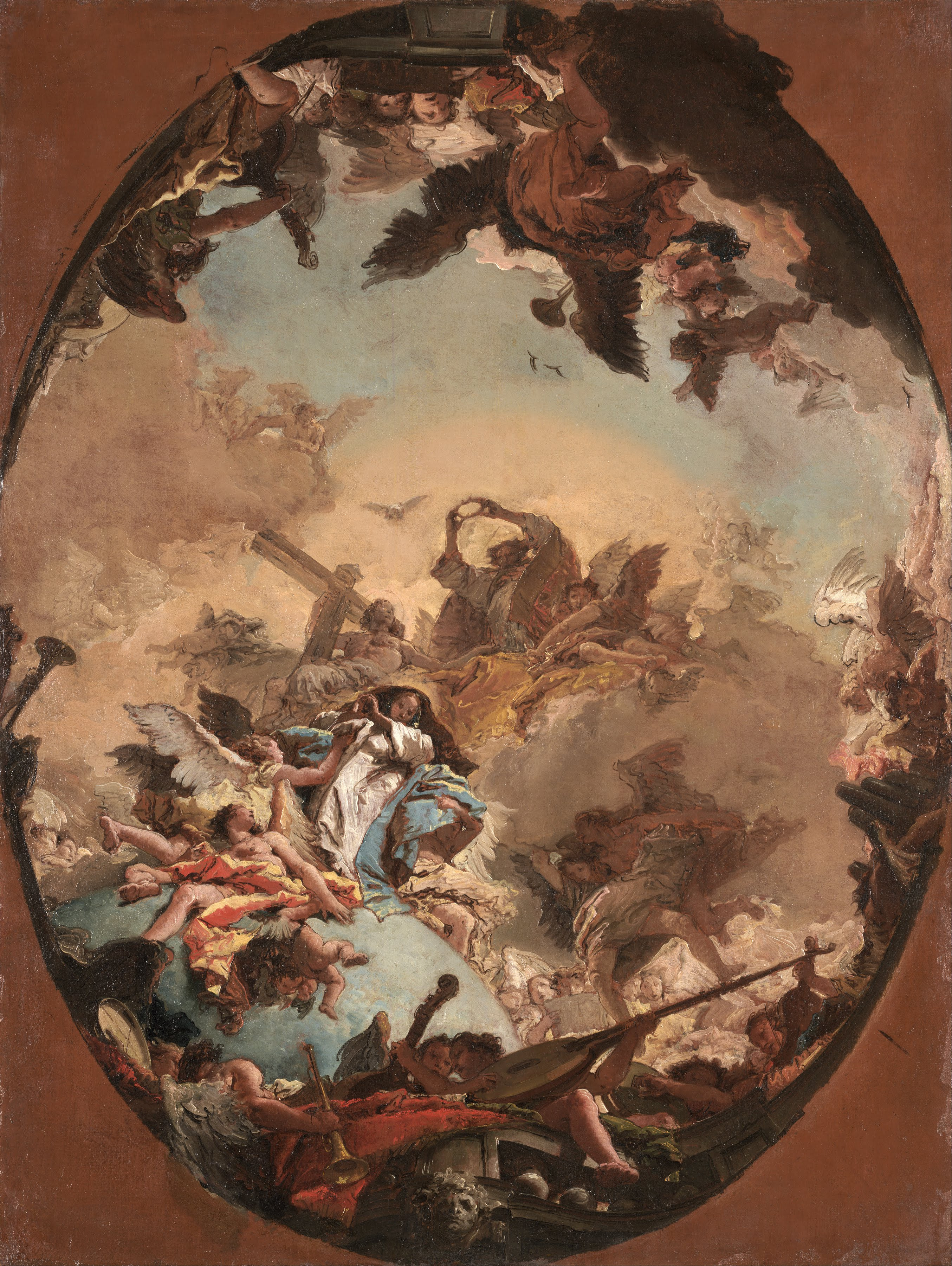 Baroque Oil Painting