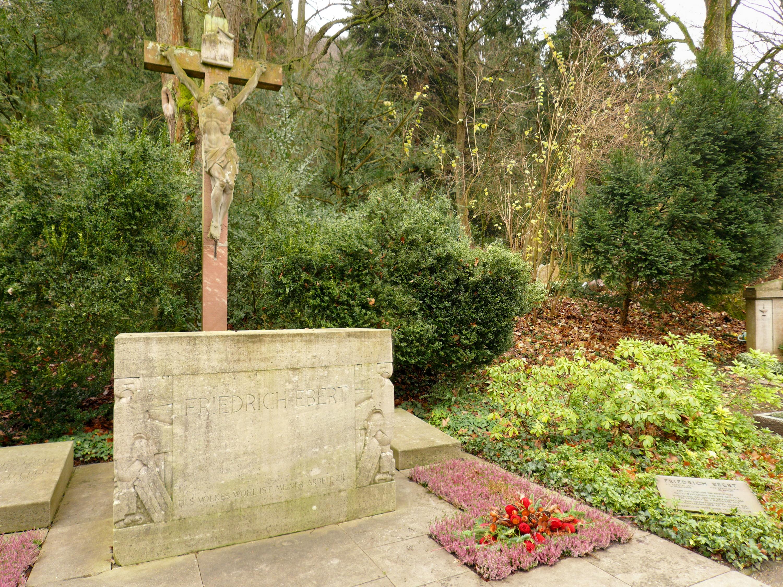 Grab von Friedrich Ebert