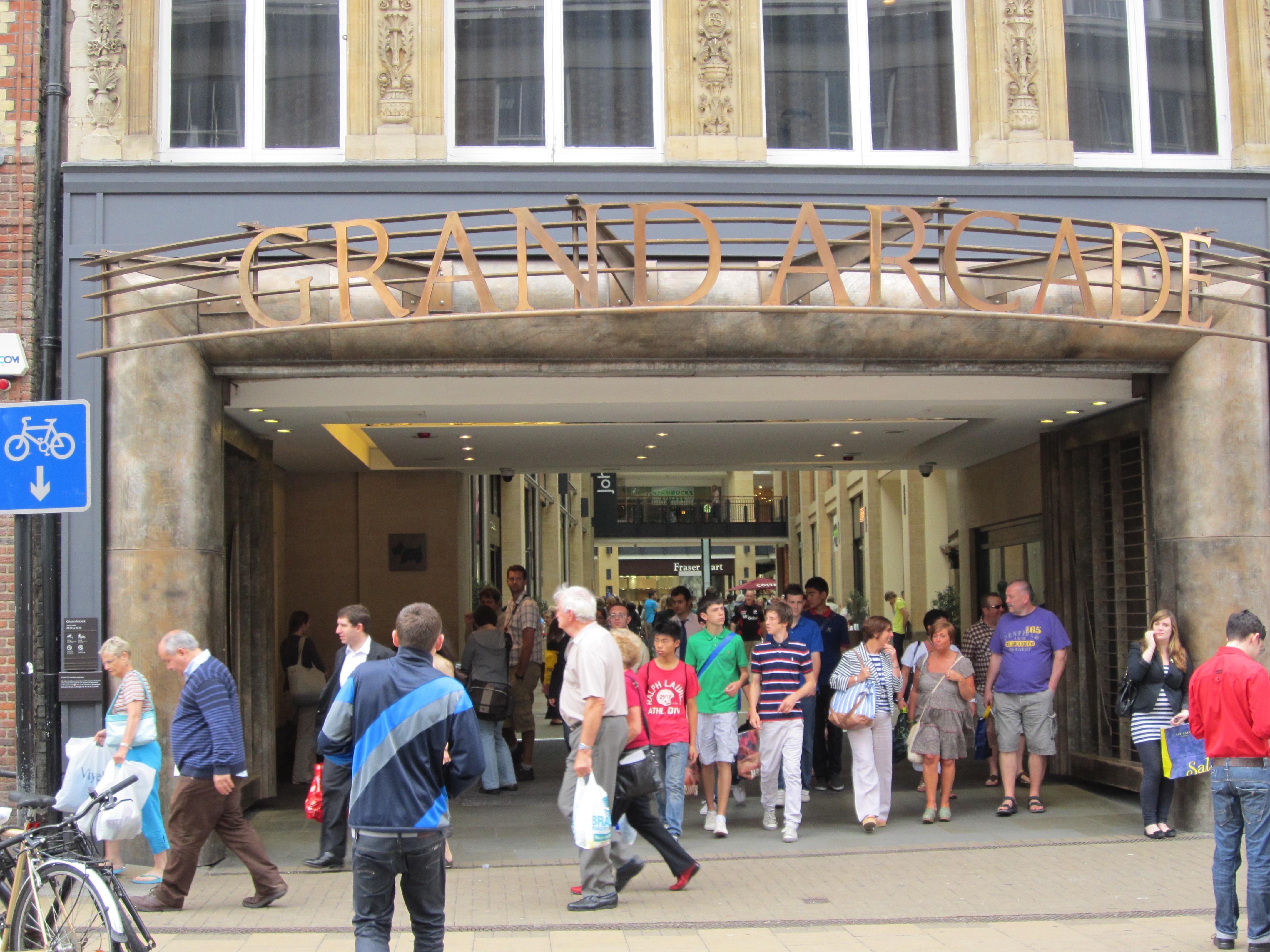 FileGrand Arcade Entrance Cambridge England IMG 0622