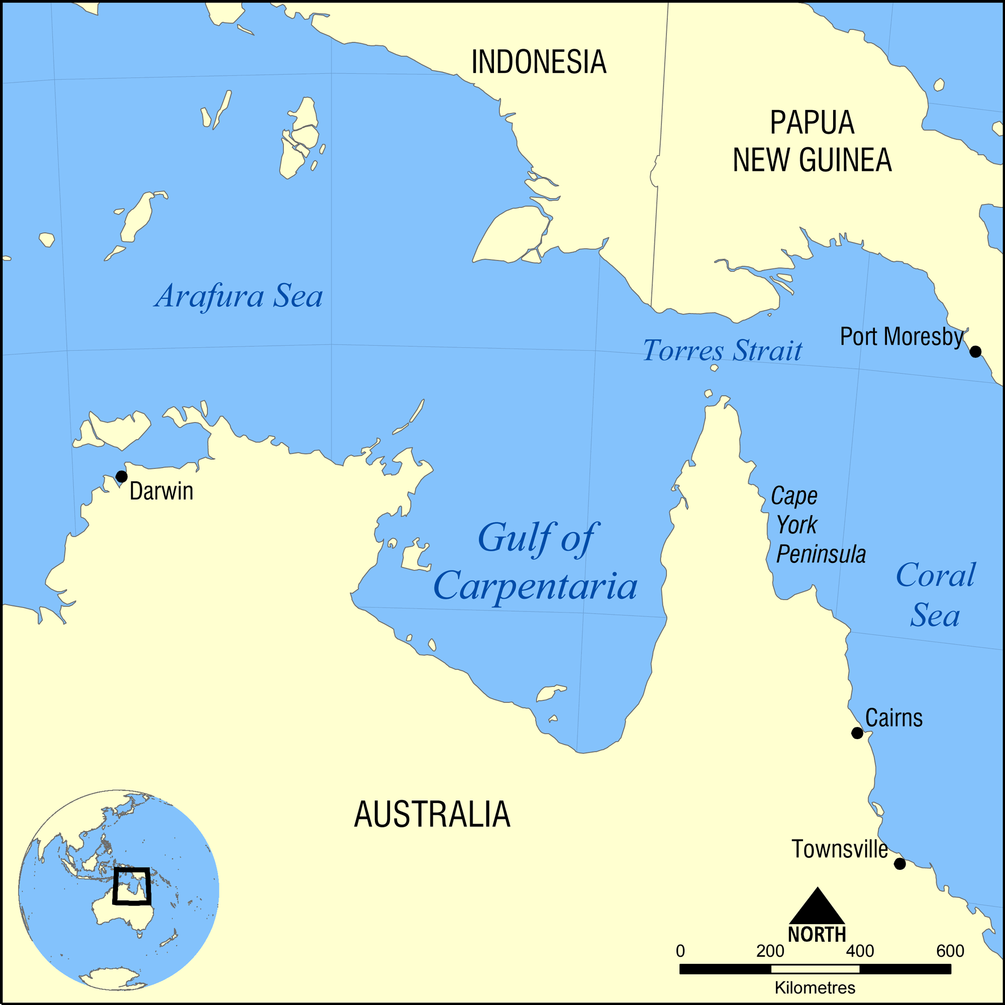 Map Of Asia Gulf Of Tonkin.Gulf Of Carpentaria Wikipedia