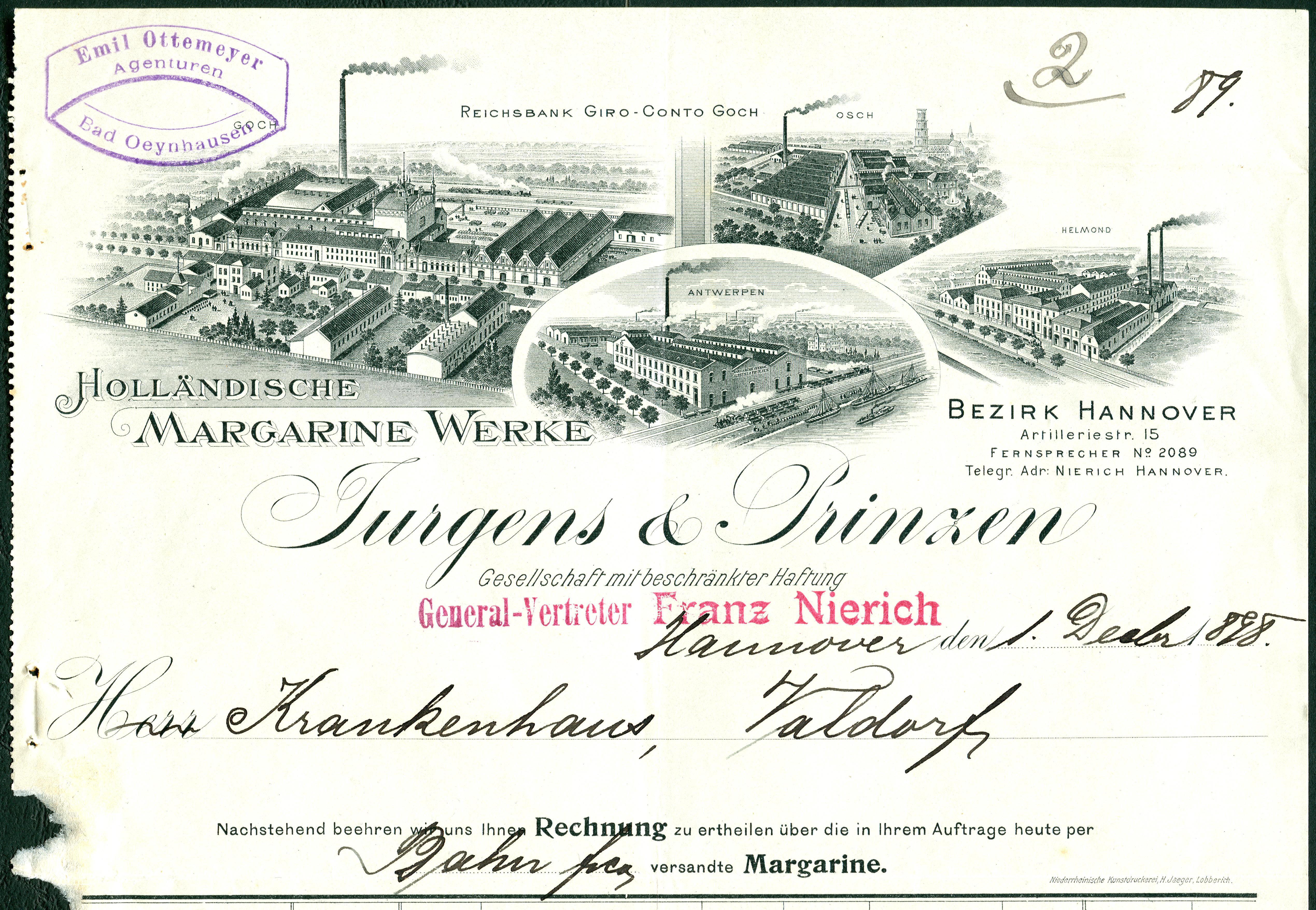 File:Holländische Margarinewerke Jurgens & Prinzen GmbH Osch ...