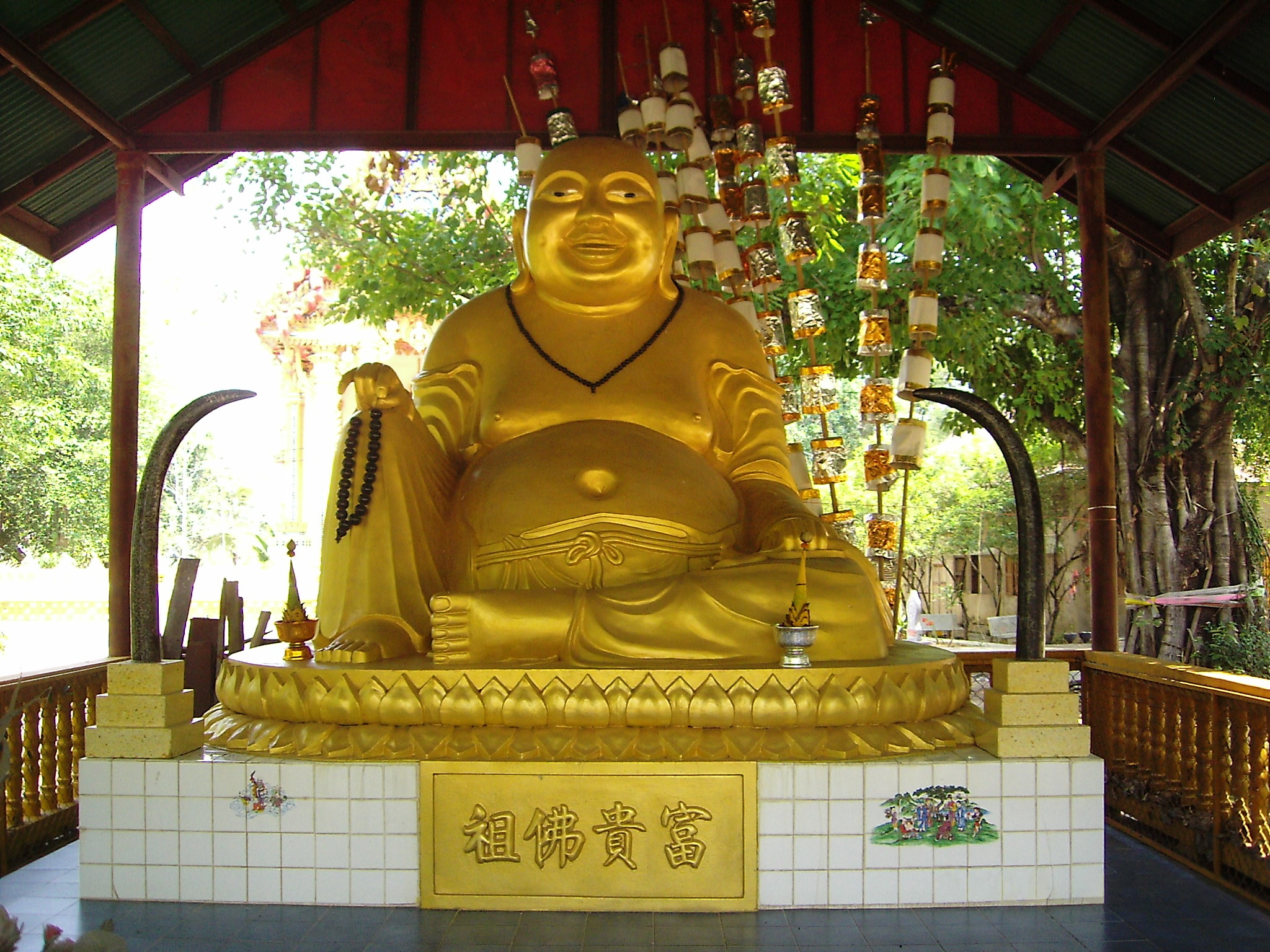 File Hotei In Thailand Jpg Wikimedia Commons